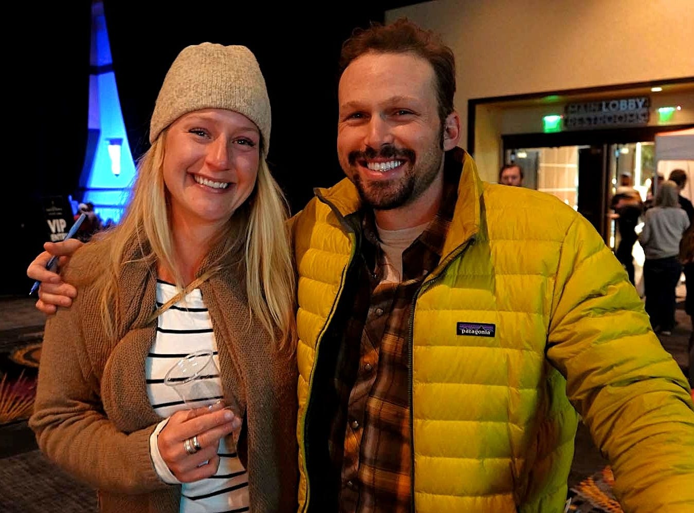 Images at the annual Warren Miller event held on Nov. 10, 2018 at the Reno Ballroom in downtown Reno.