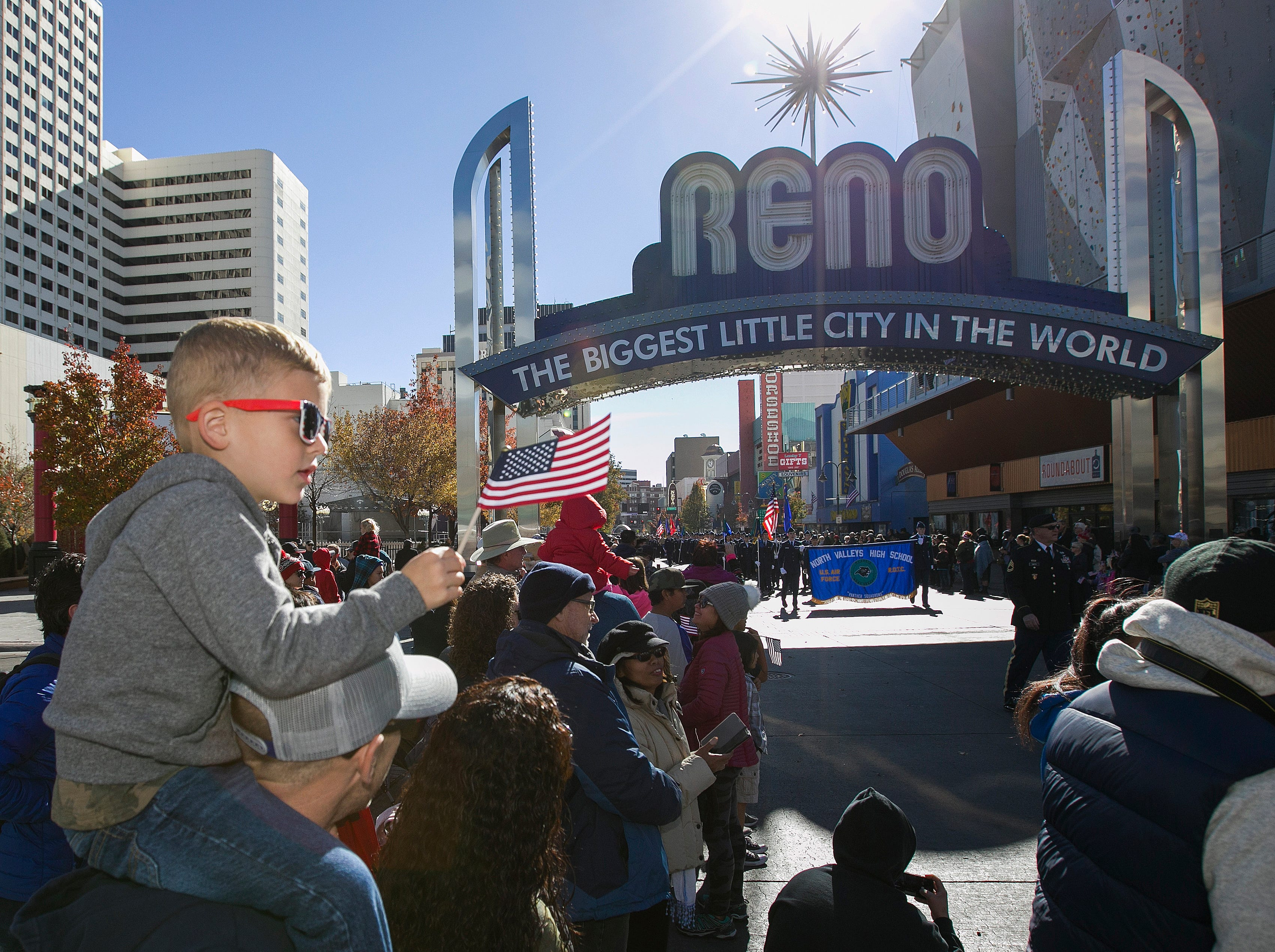 Photos from the Veterans Day parade in Reno