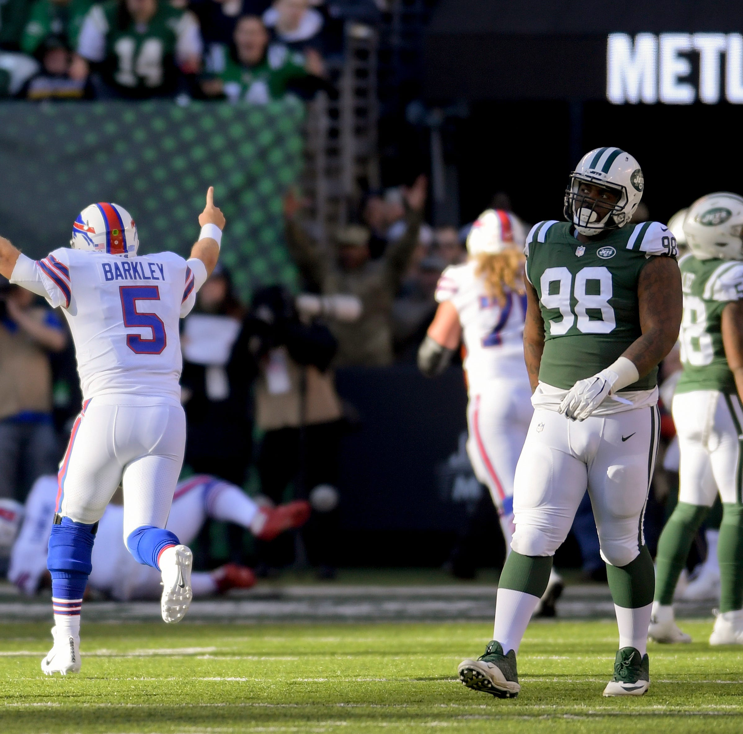 Bills can do no wrong and Barkley shines at quarterback in 41-10 victory over Jets