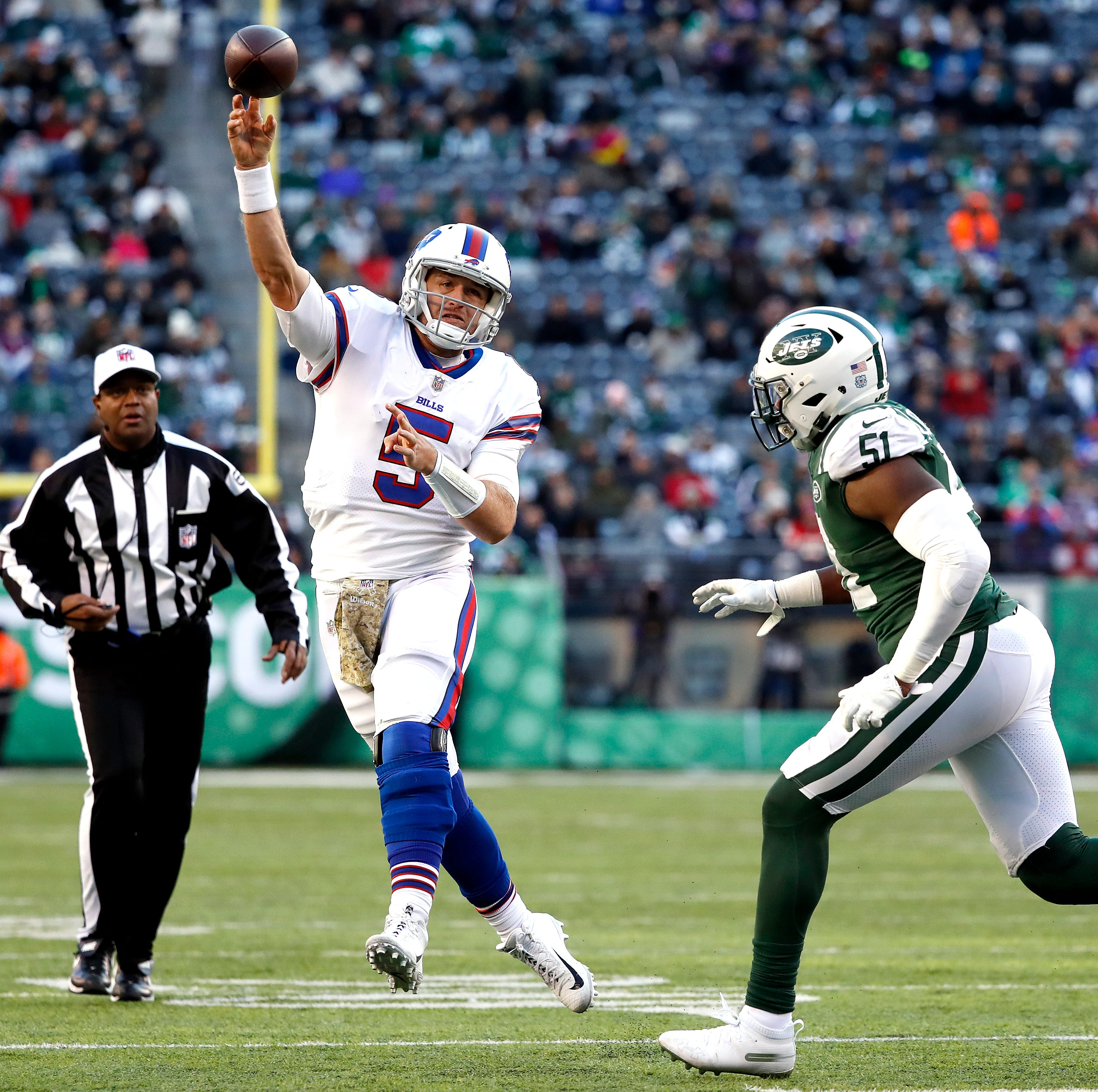 A Bills QB controversy? Let's not carried away but Barkley's play a breath of fresh air