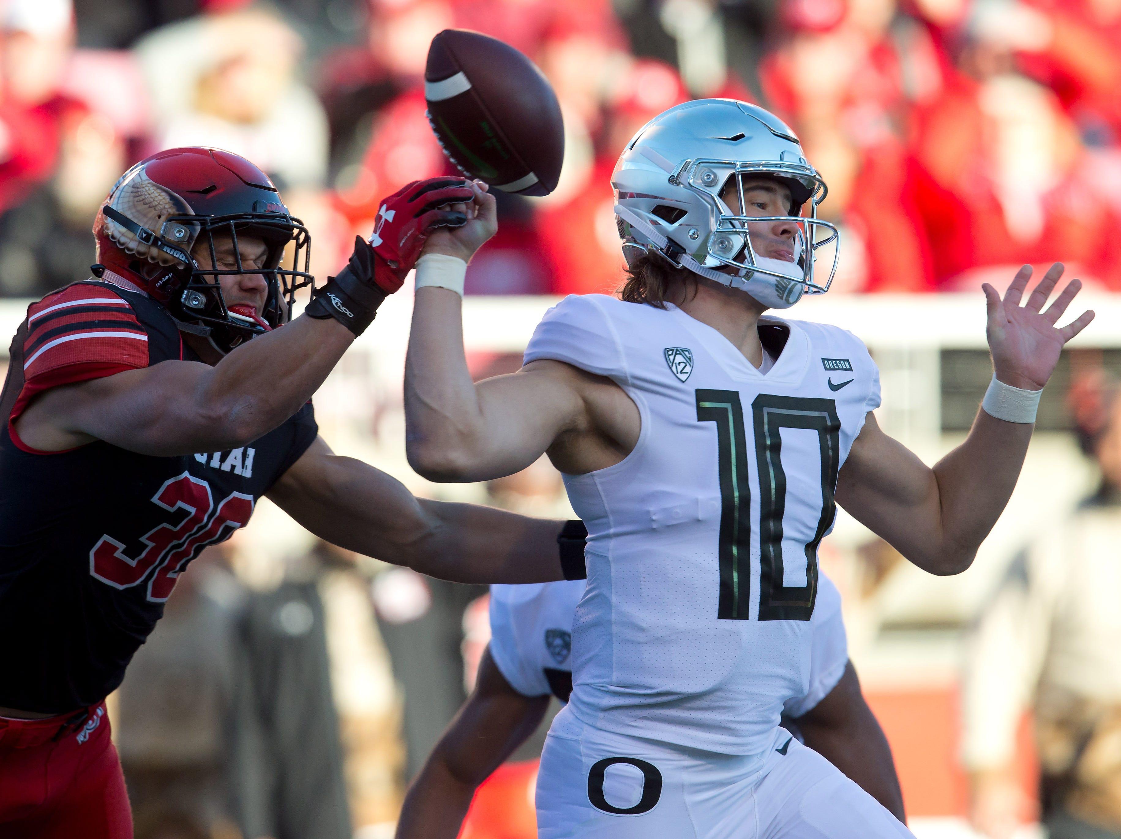Oregon Ducks football had no business losing to short-handed Utah