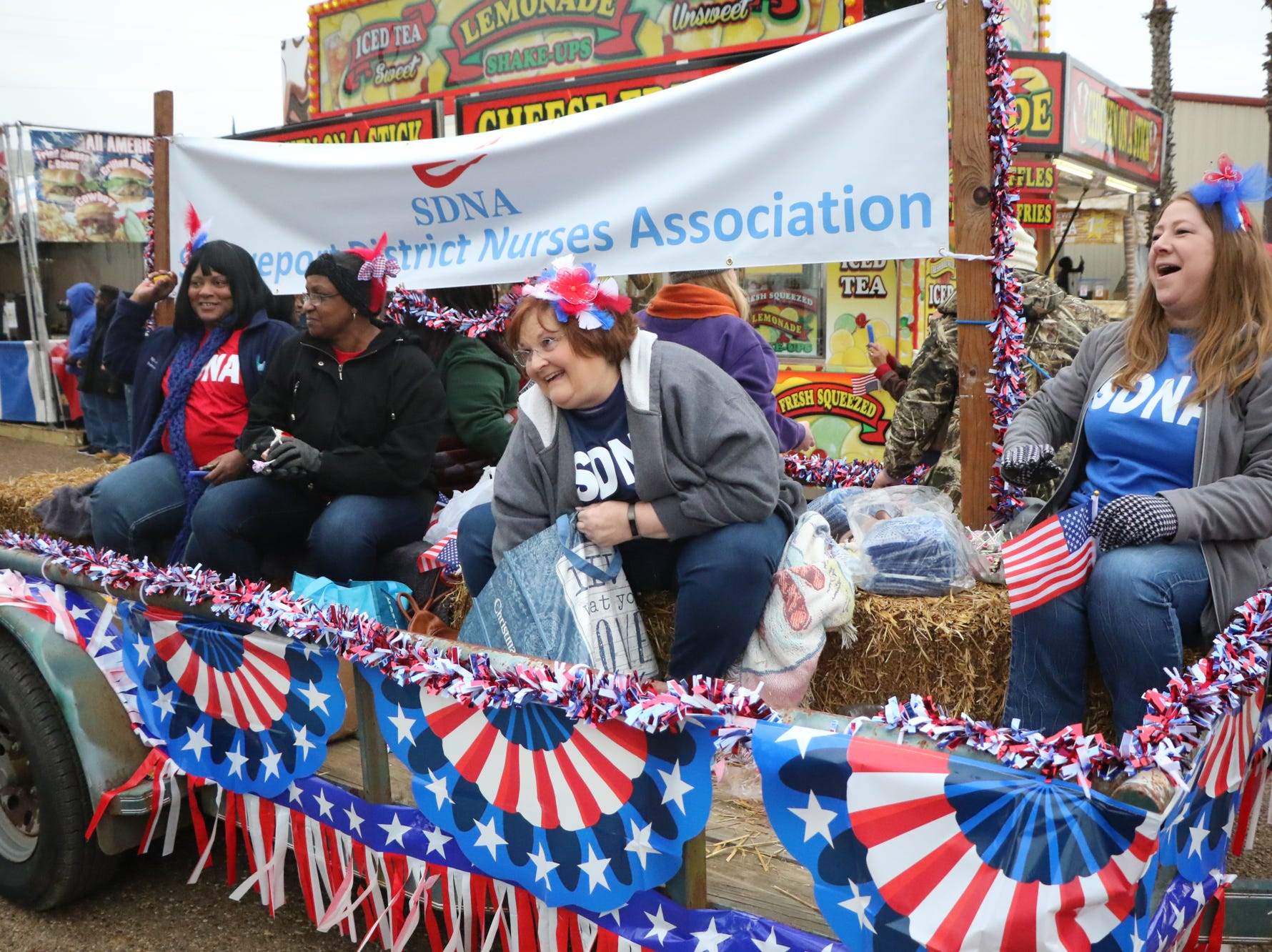 The 2018 Veterans Day parade rolls through the State Fair of Louisiana on Sunday in Shreveport.