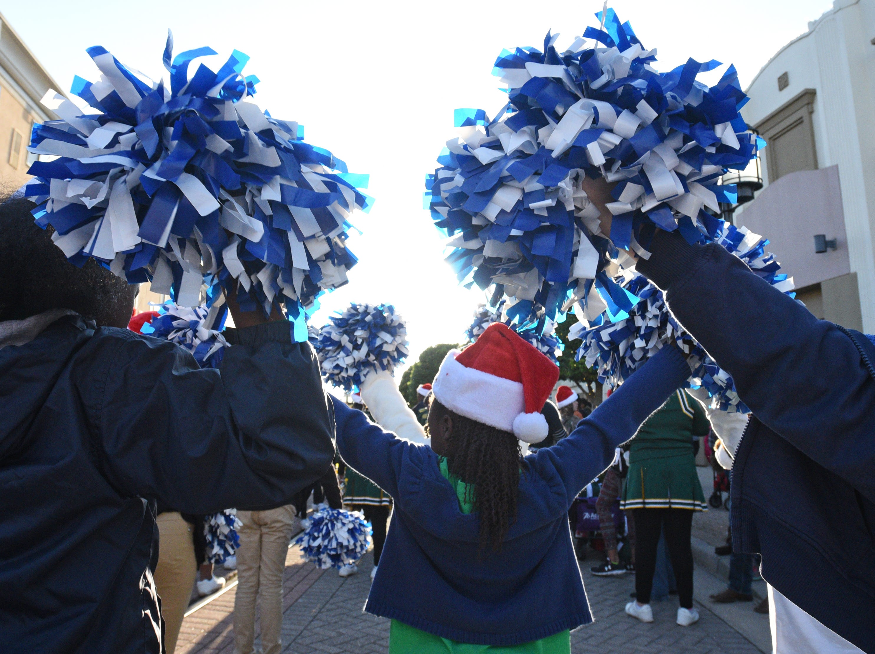 The Bass Pro Shops-Louisiana Boardwalk Outlets Santa Parade was held Saturday afternoon.