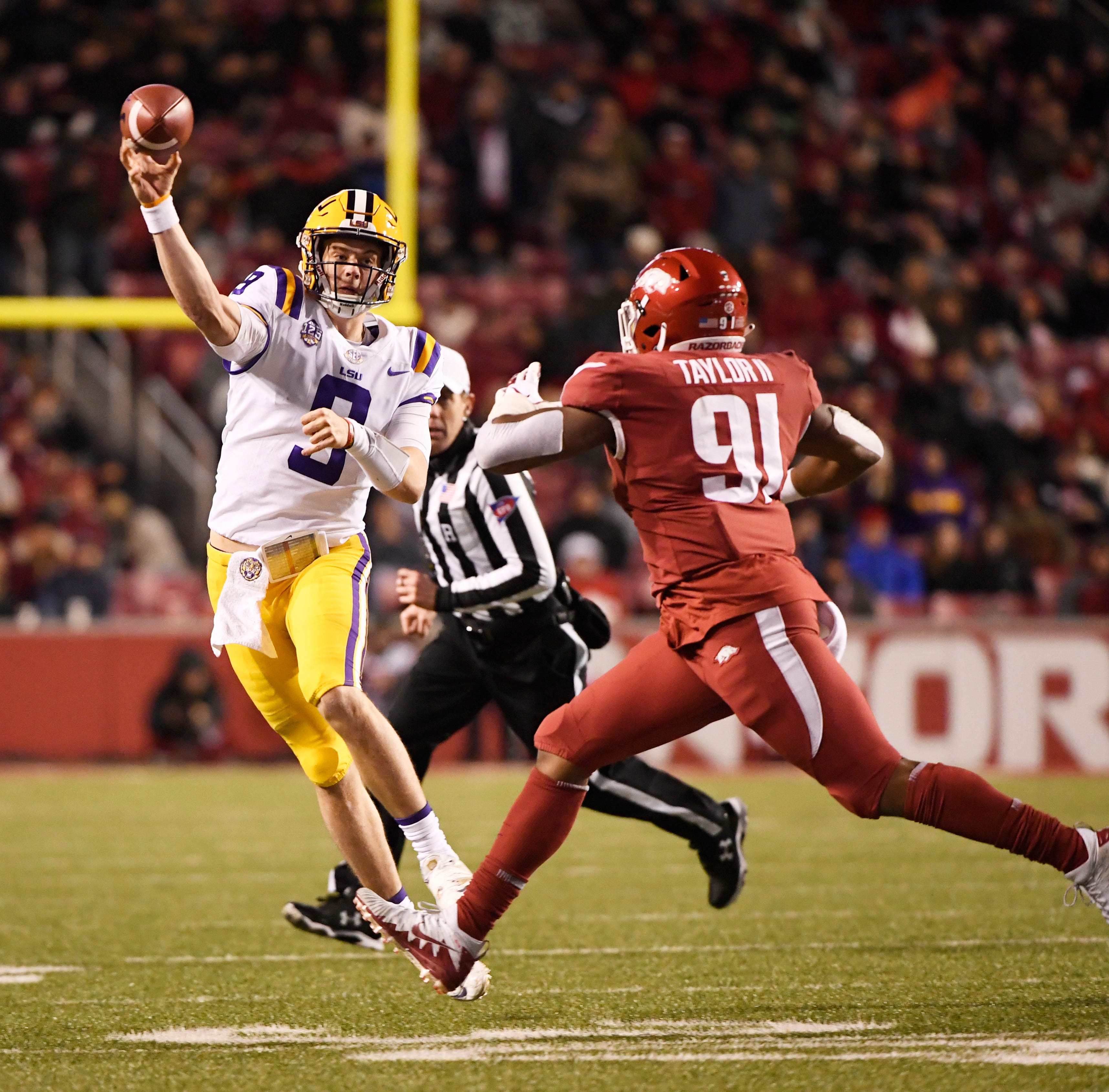 LSU bounces back with win at Arkansas
