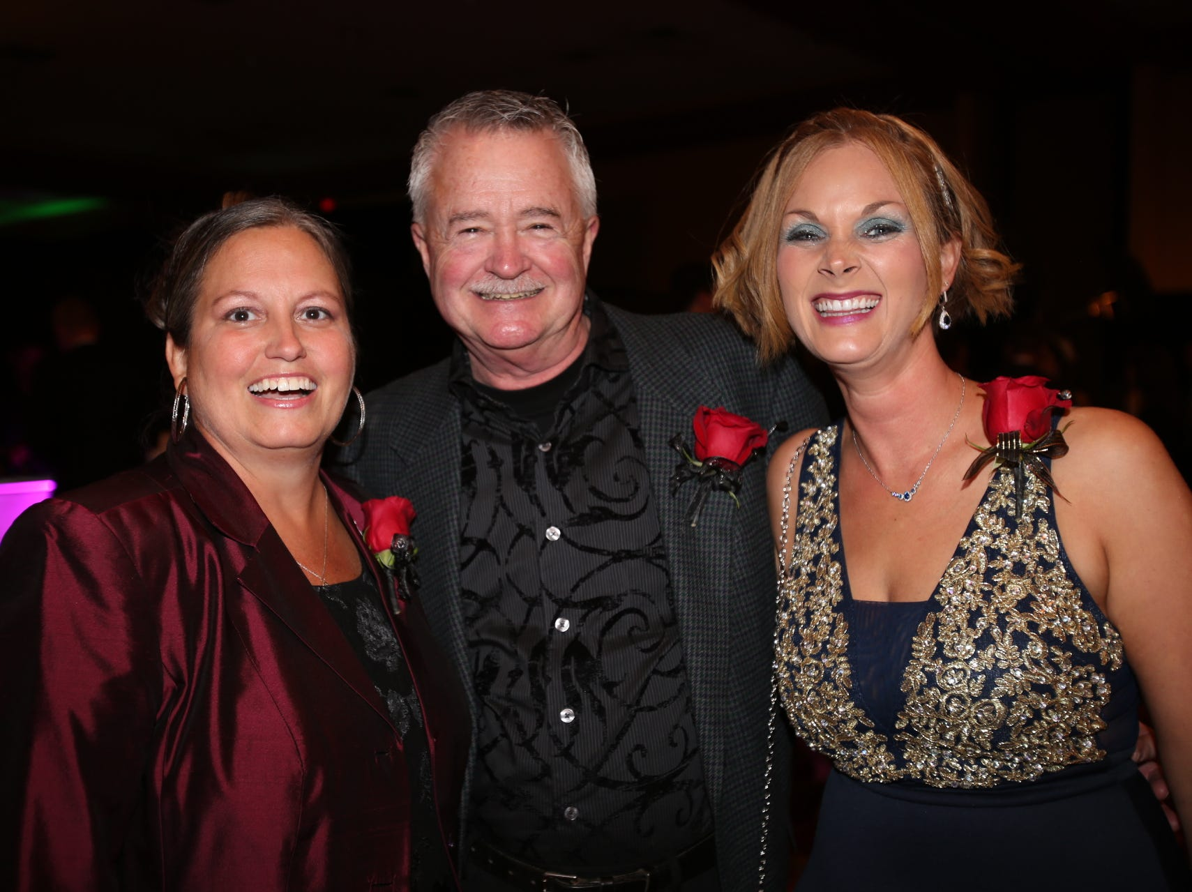 Kim Prescott, Steve Waddell, and Courtney Pinkham-Martin