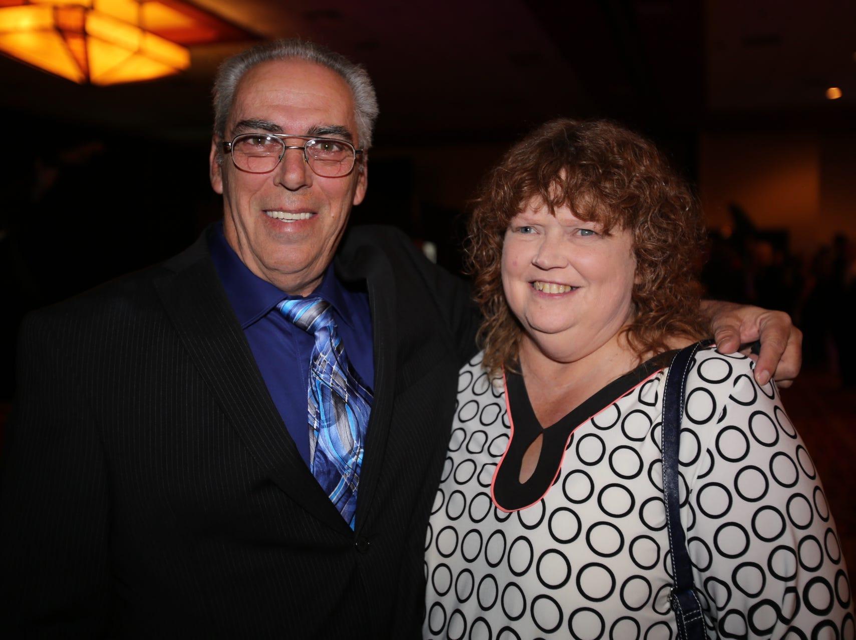 Dennis and Becky Millard