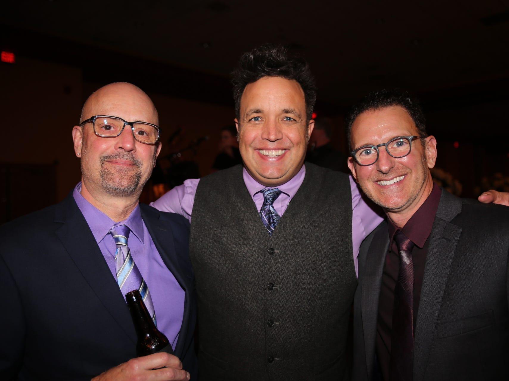 Mike Cates, Uli, and Doug Carter