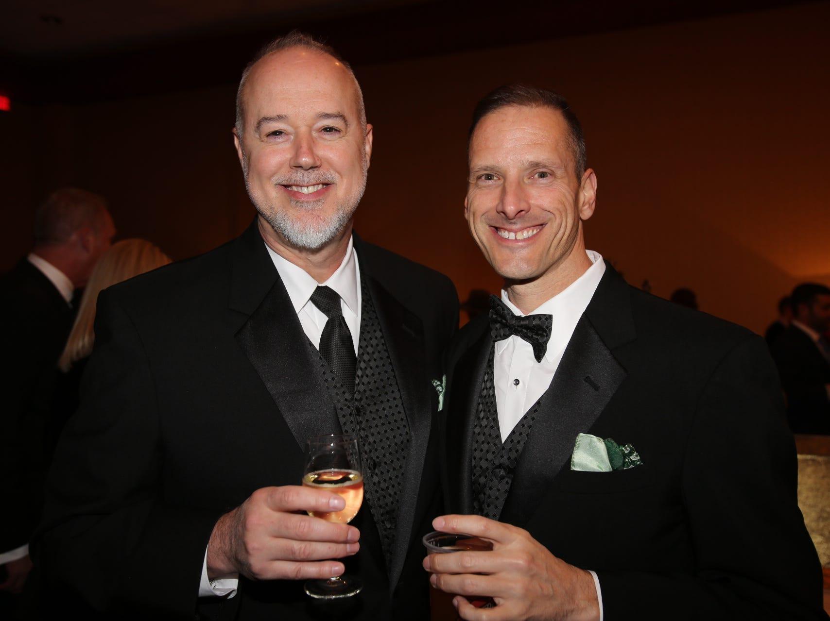 Tony Dunn and Michial Harris