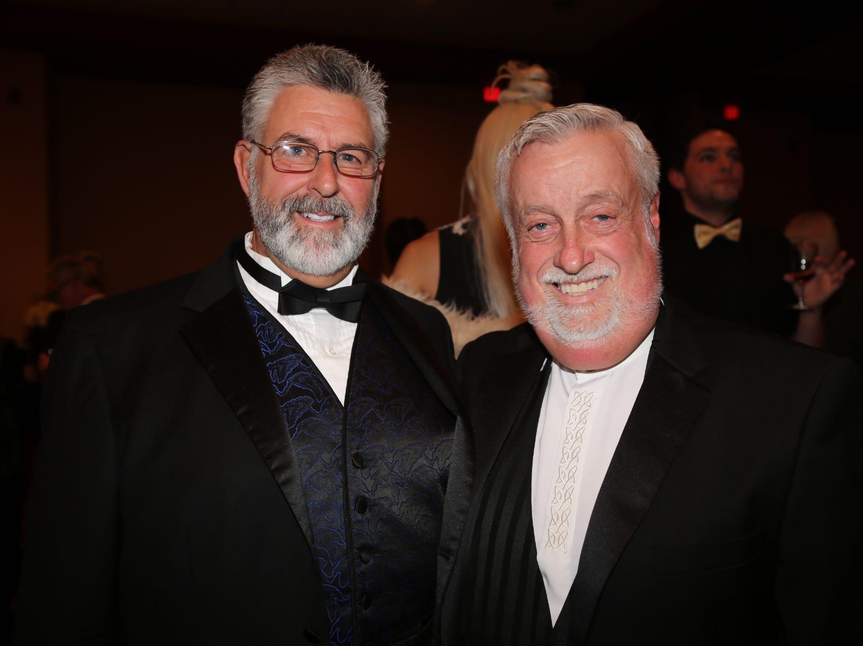 Mark Hardman and Lenard Davenport