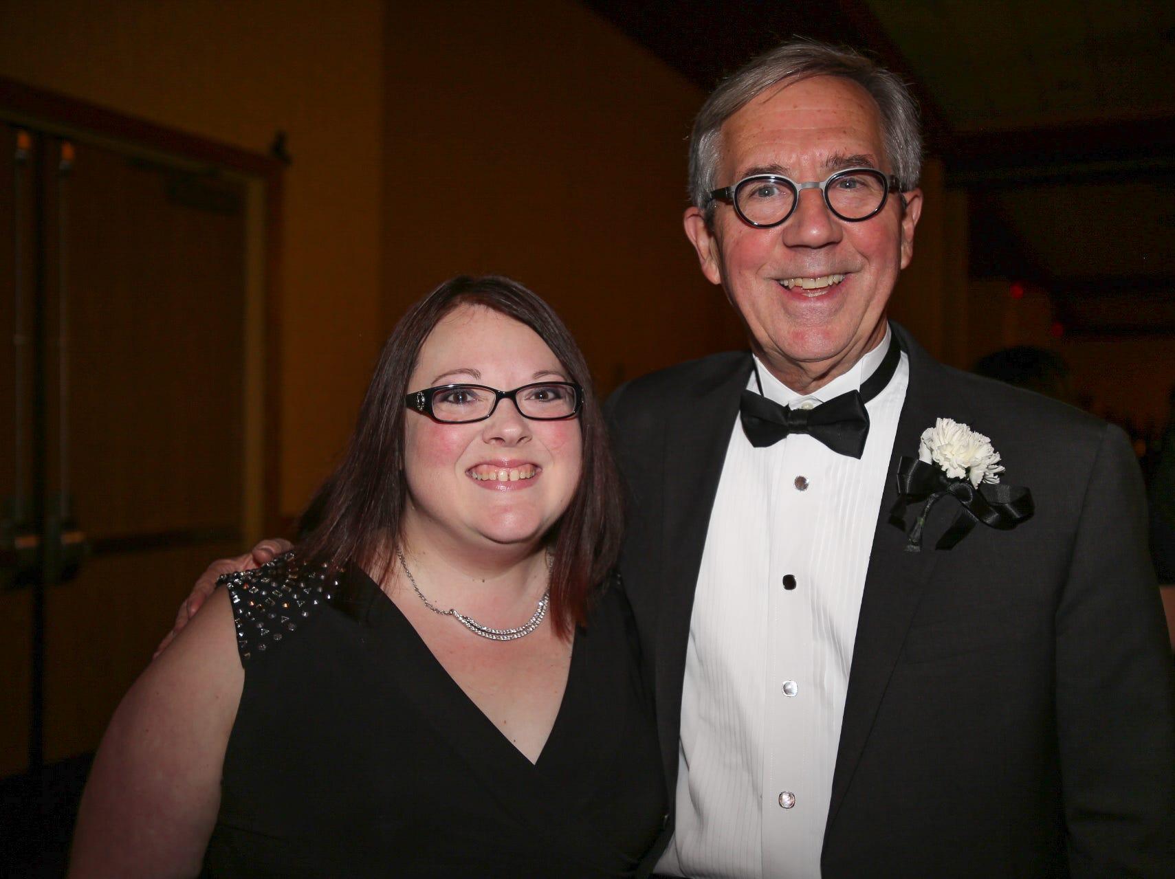 Becky Hopkins and Jeff Munzinger