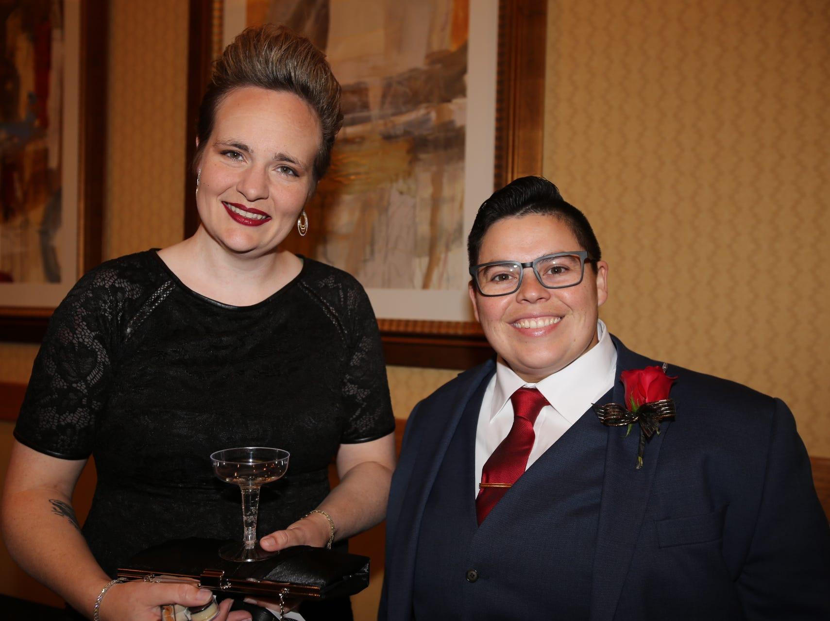 Jennifer Wintjen and Elyse Riley