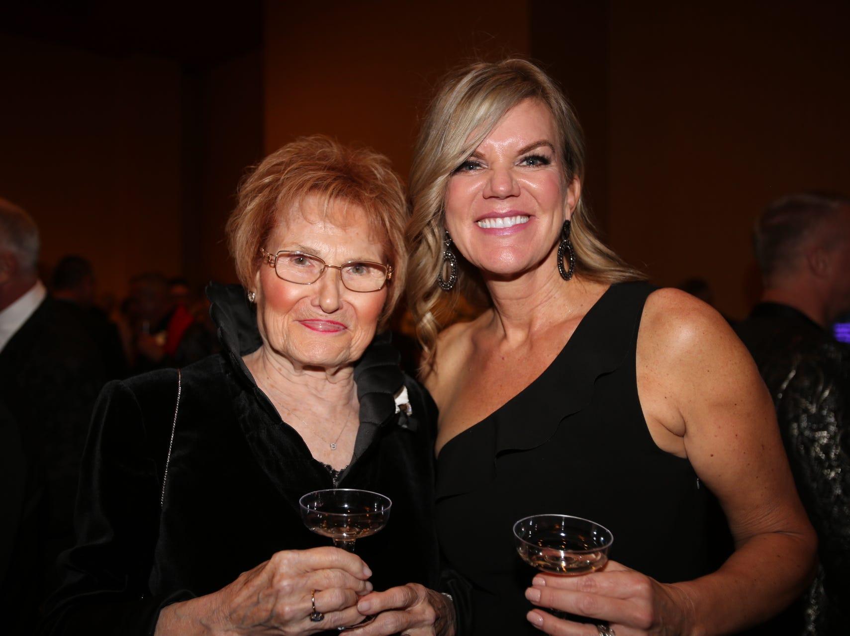 Patty Brooks and Jill Layman