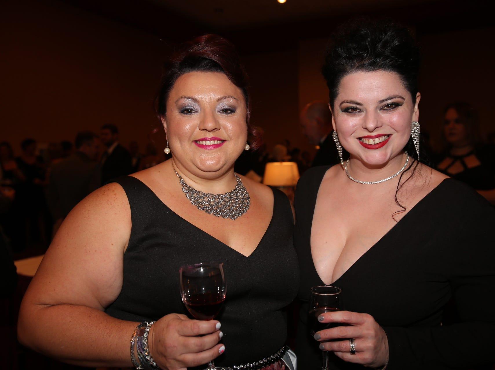 Amanda Brown and Tiffany Ellis