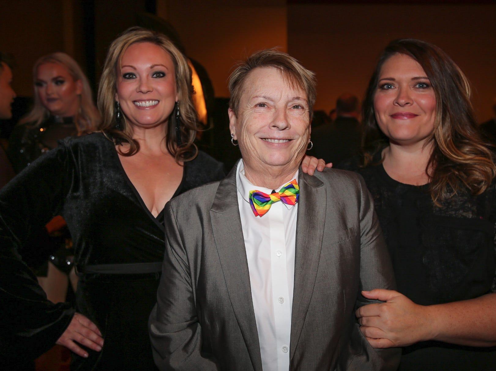 Keri McKee, Vickie Robinson, and Addy McCord