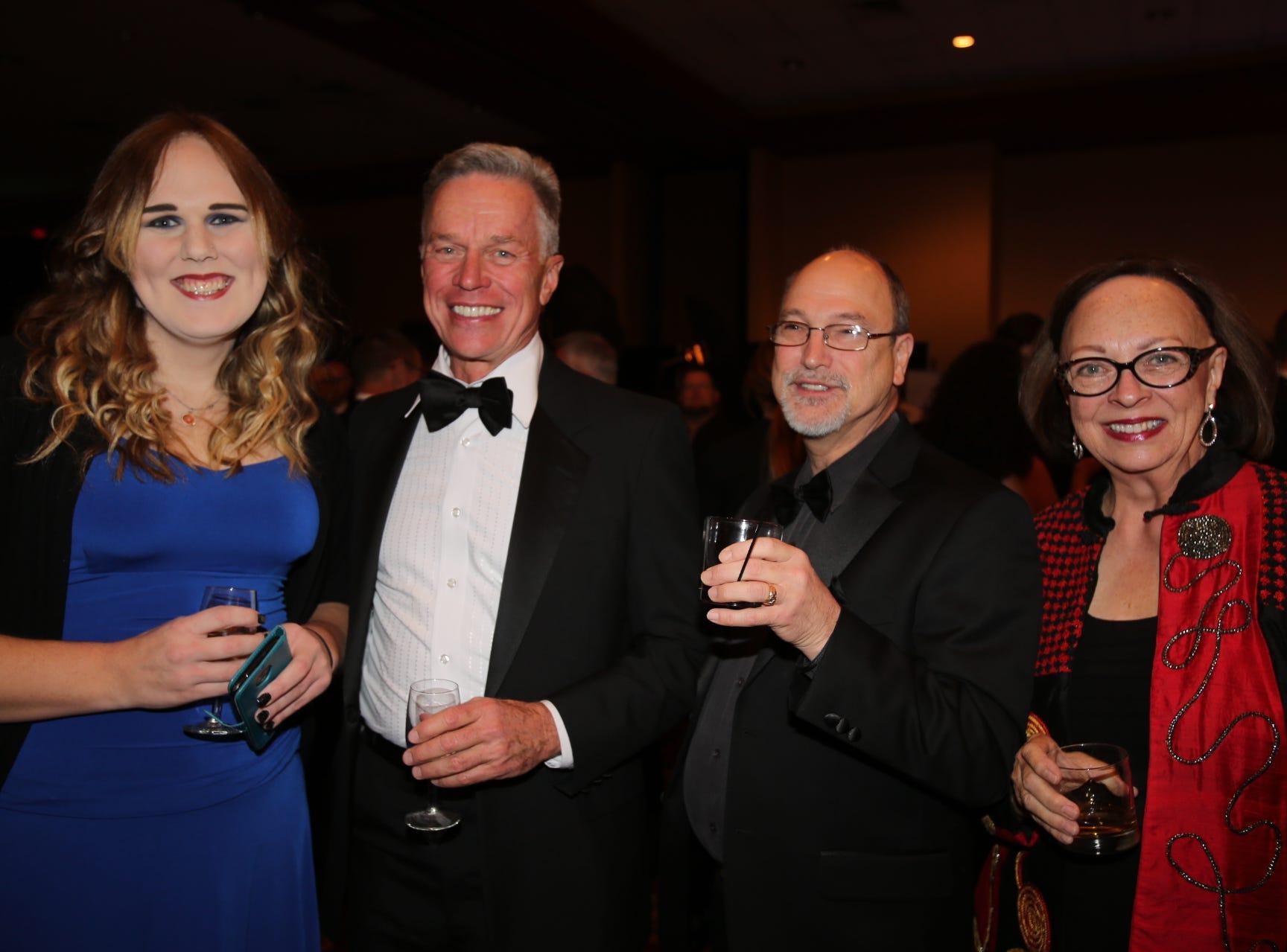 Nylah Rogers, Alan Bailey, Mark Wealand, and Sara Lampe