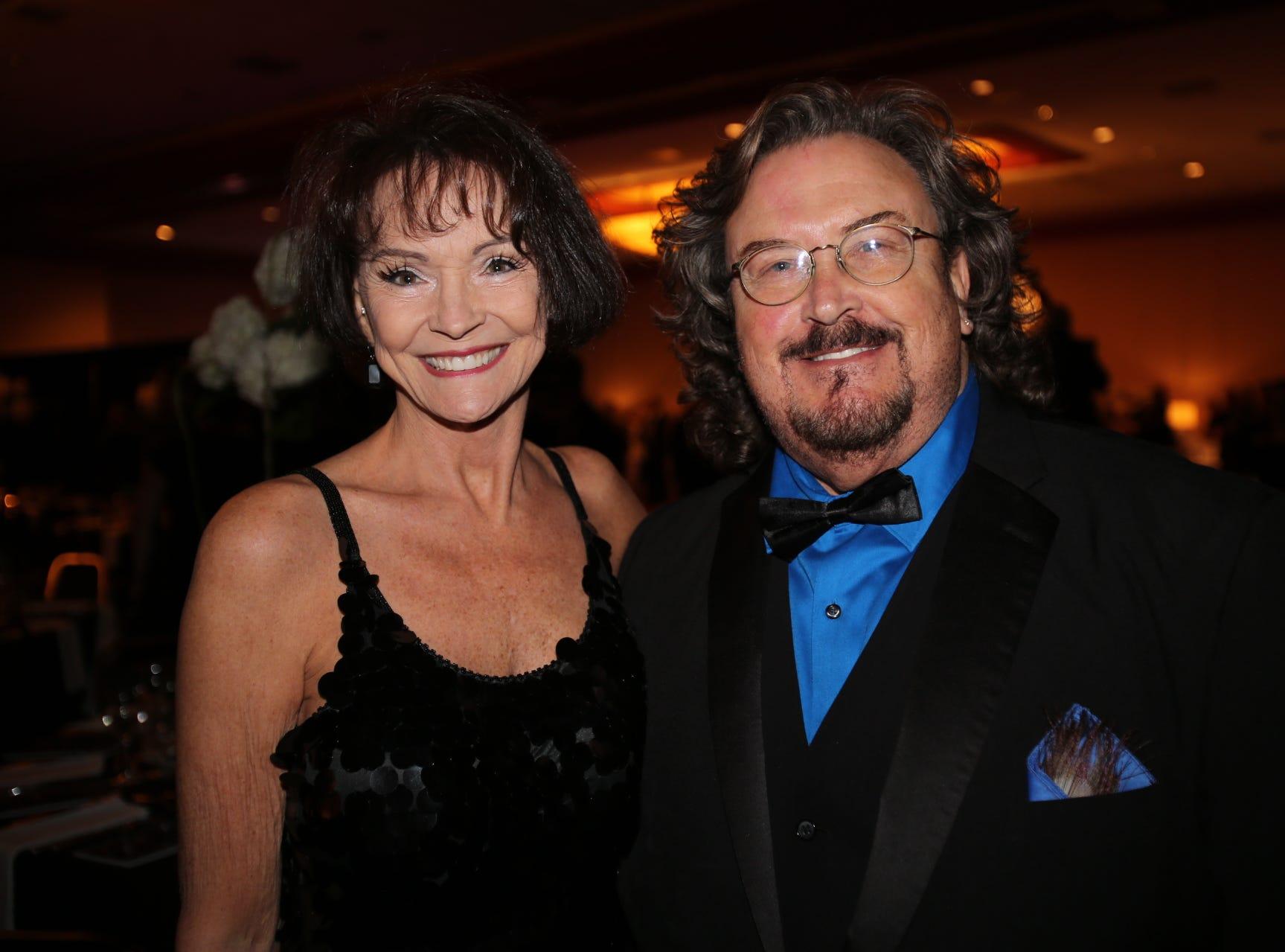 Connie Martin and Joe Tate