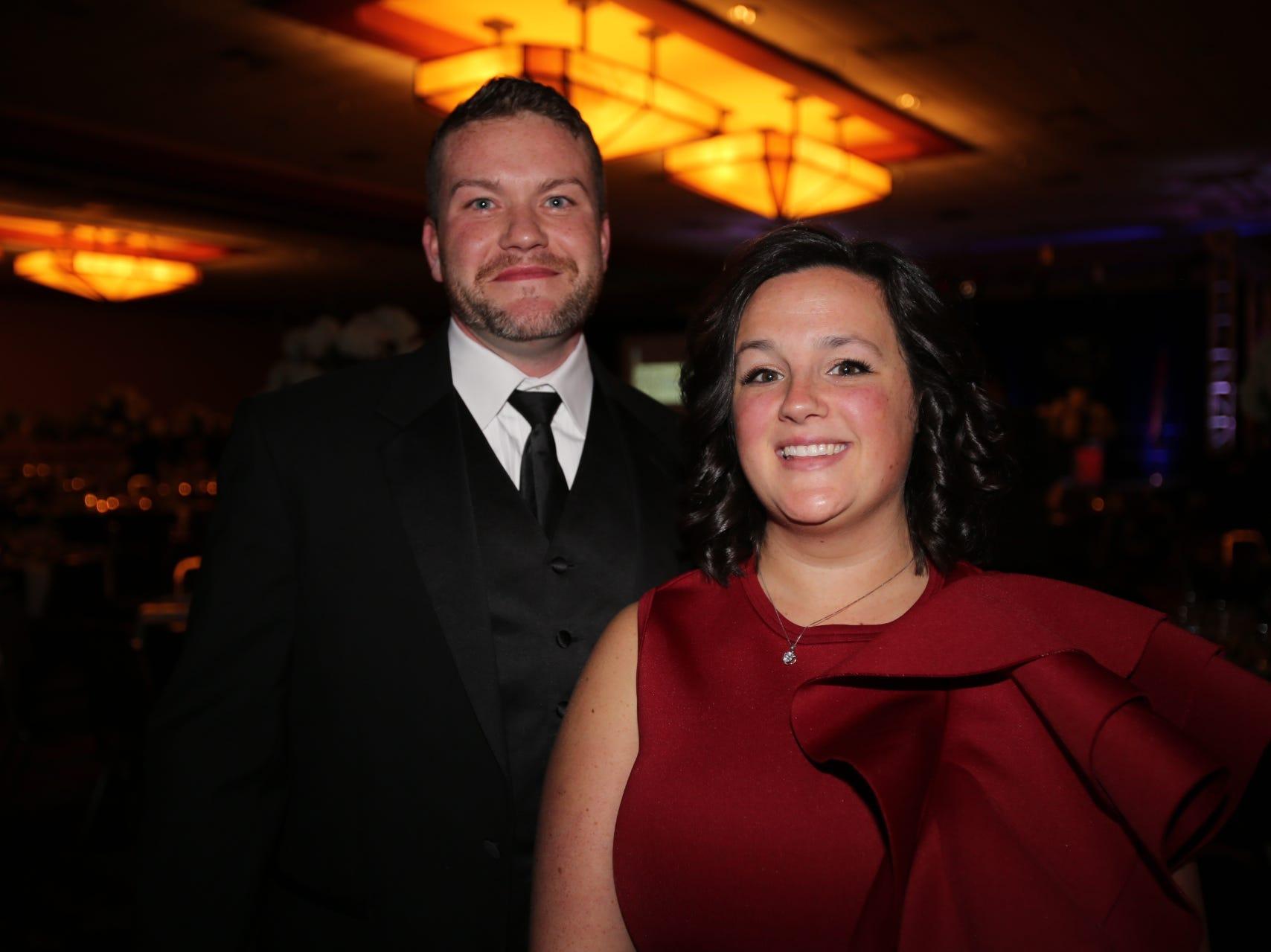 John Fahey and Brianna Russell