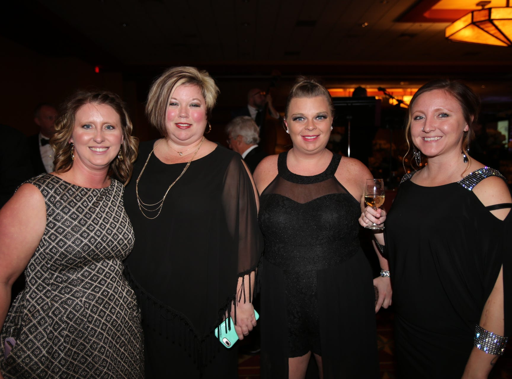 Tracy Johnson, Lelia Voss, Brittany Morris, and Alicia Owen
