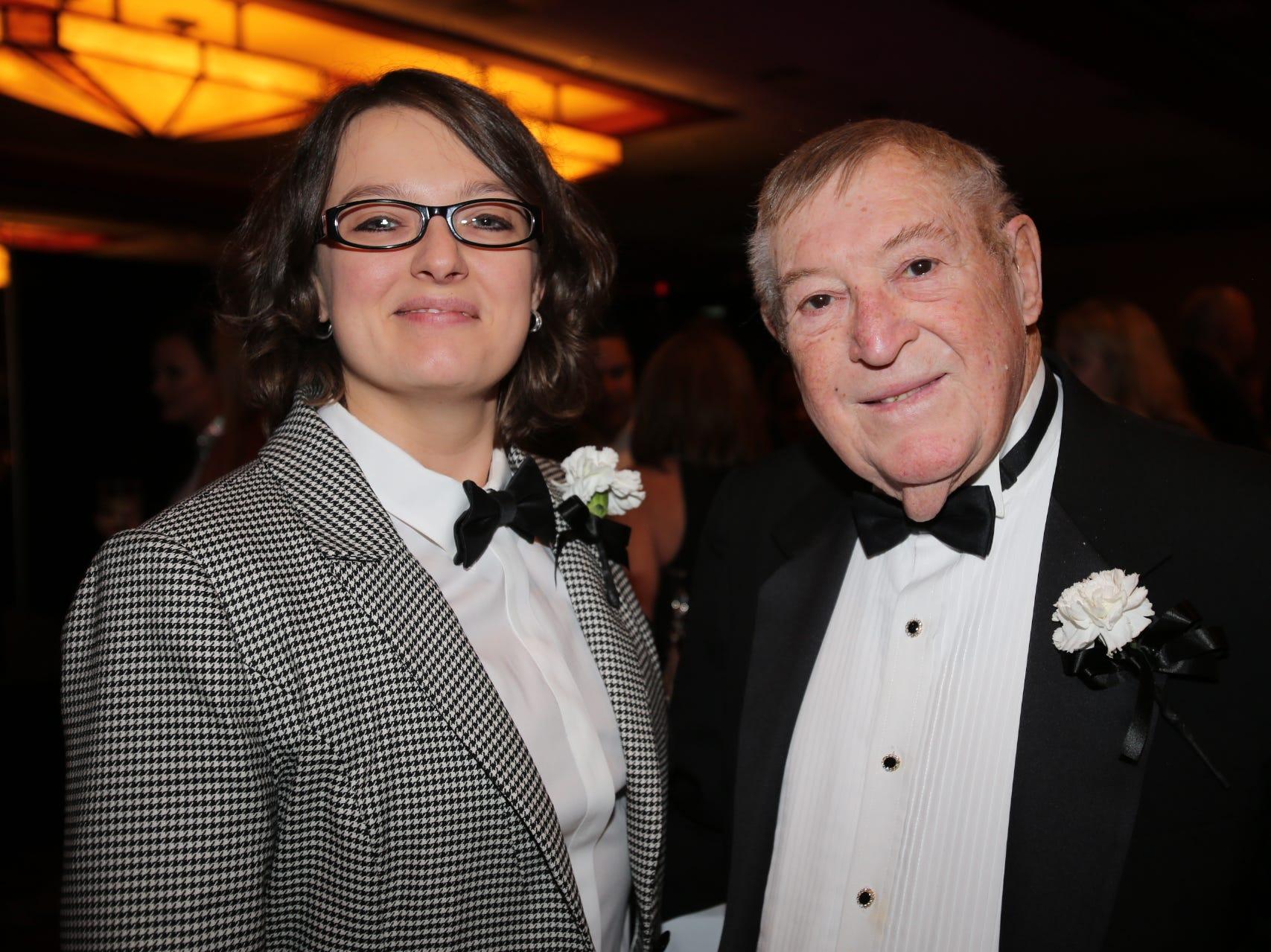 Aubrey VanHoose and Ron Tindle