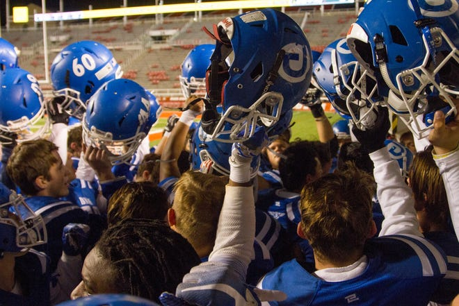 Dixie High School defeats Park City 20-0 during the state semifinals Thursday, Nov. 8, 2018. The Flyers will be searching for their third state title in seven years with a win over Orem in Friday's state championship game.