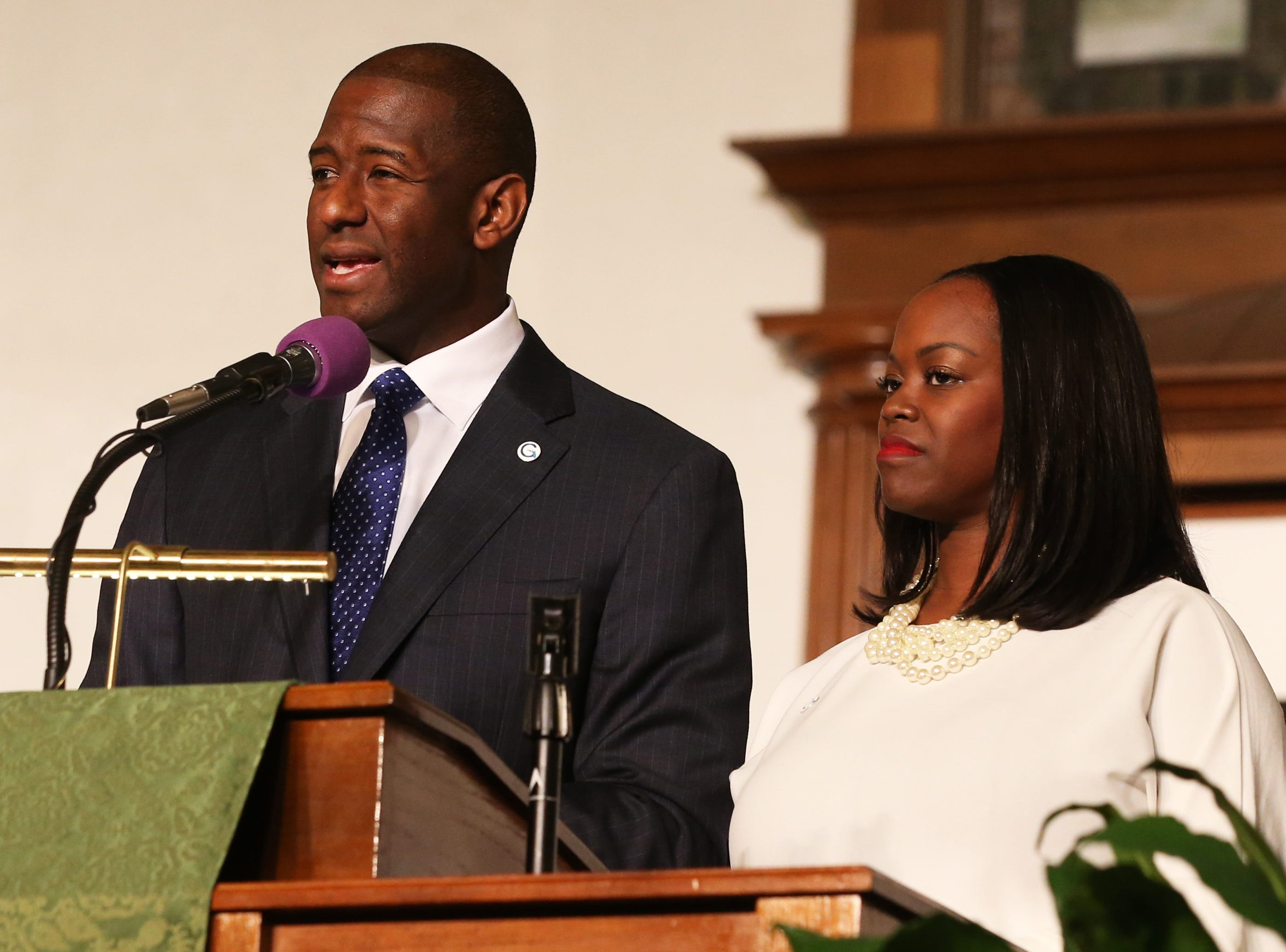'This was not just about an election cycle': Andrew Gillum concedes in Florida governor's race
