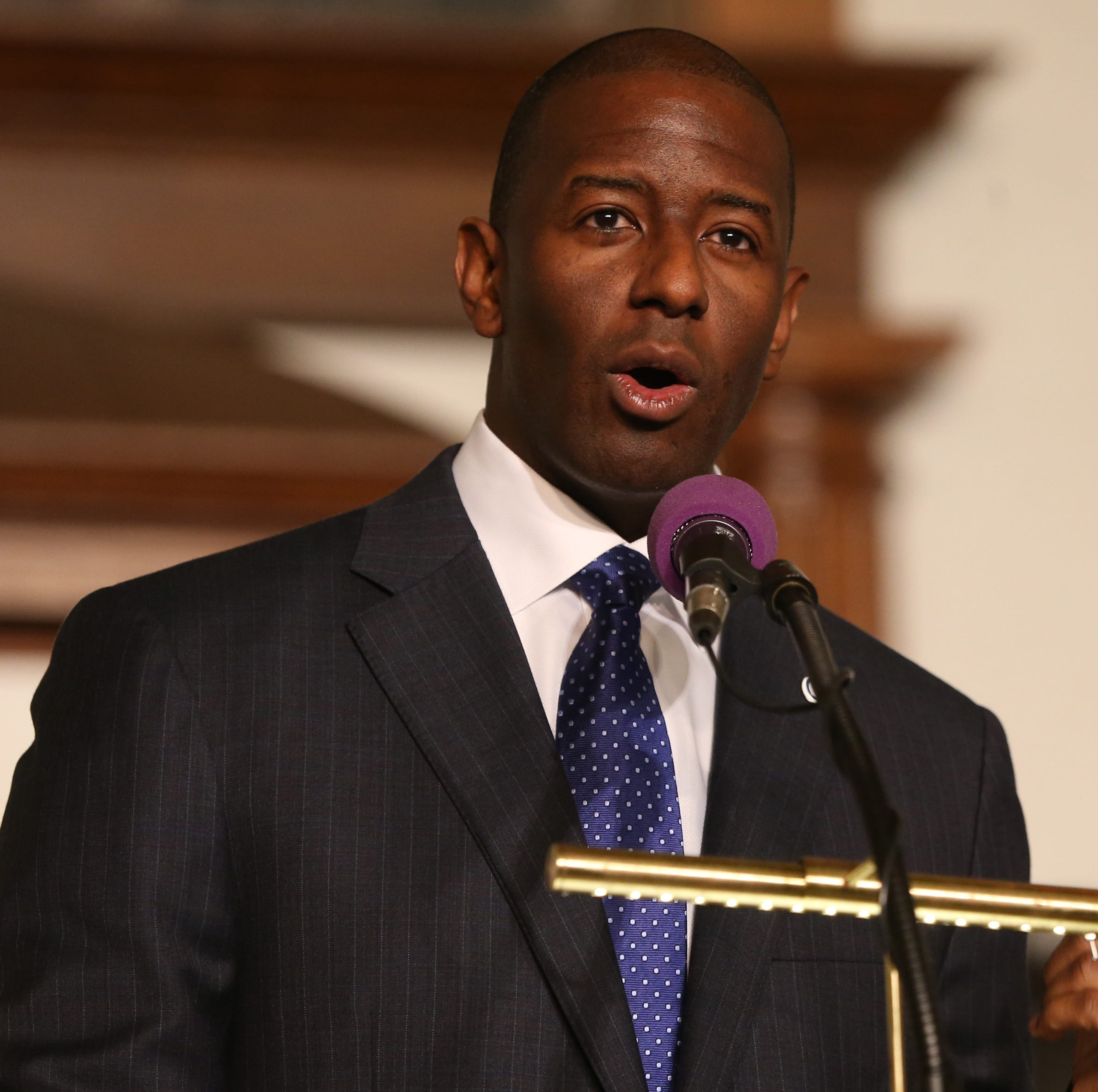 Andrew Gillum ponders lawsuit as recount deadline nears