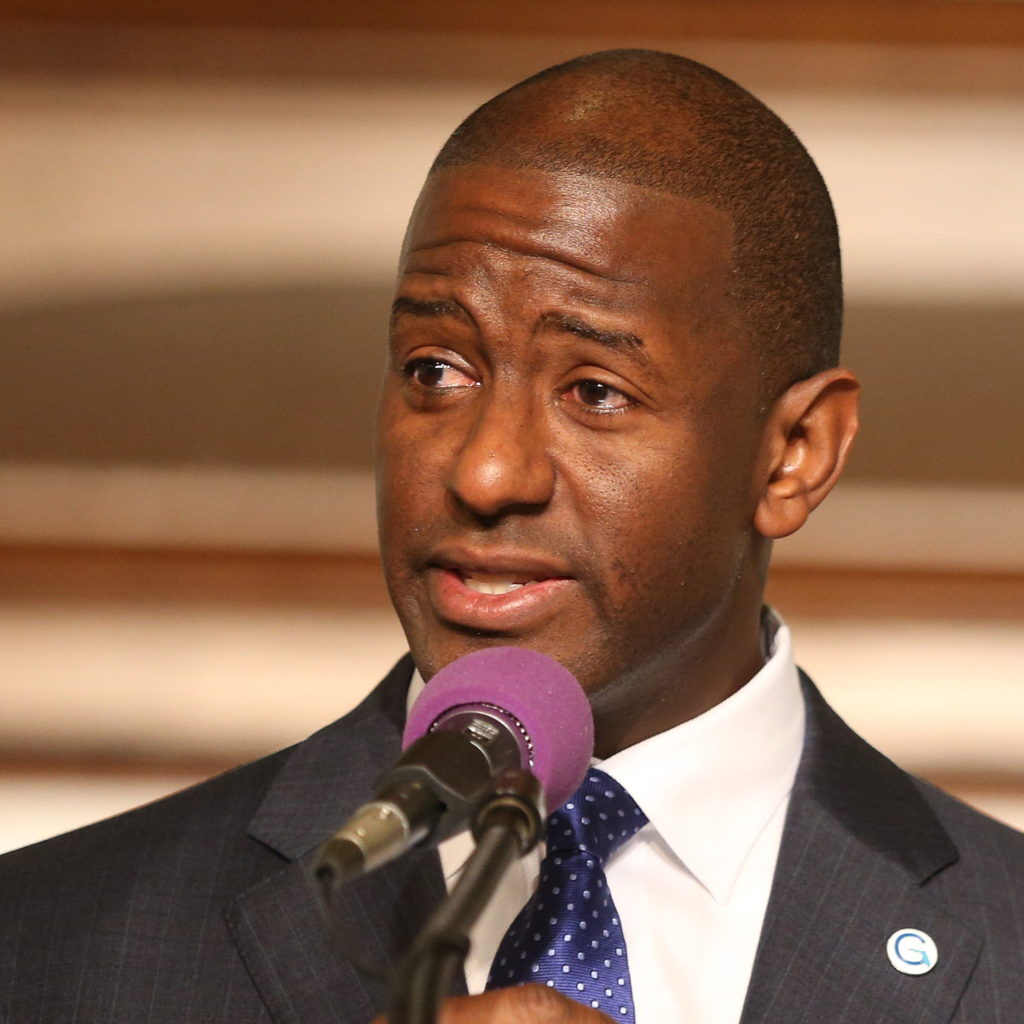 Andrew Gillum tells church 'final count is not done' before heading to recount ground zero