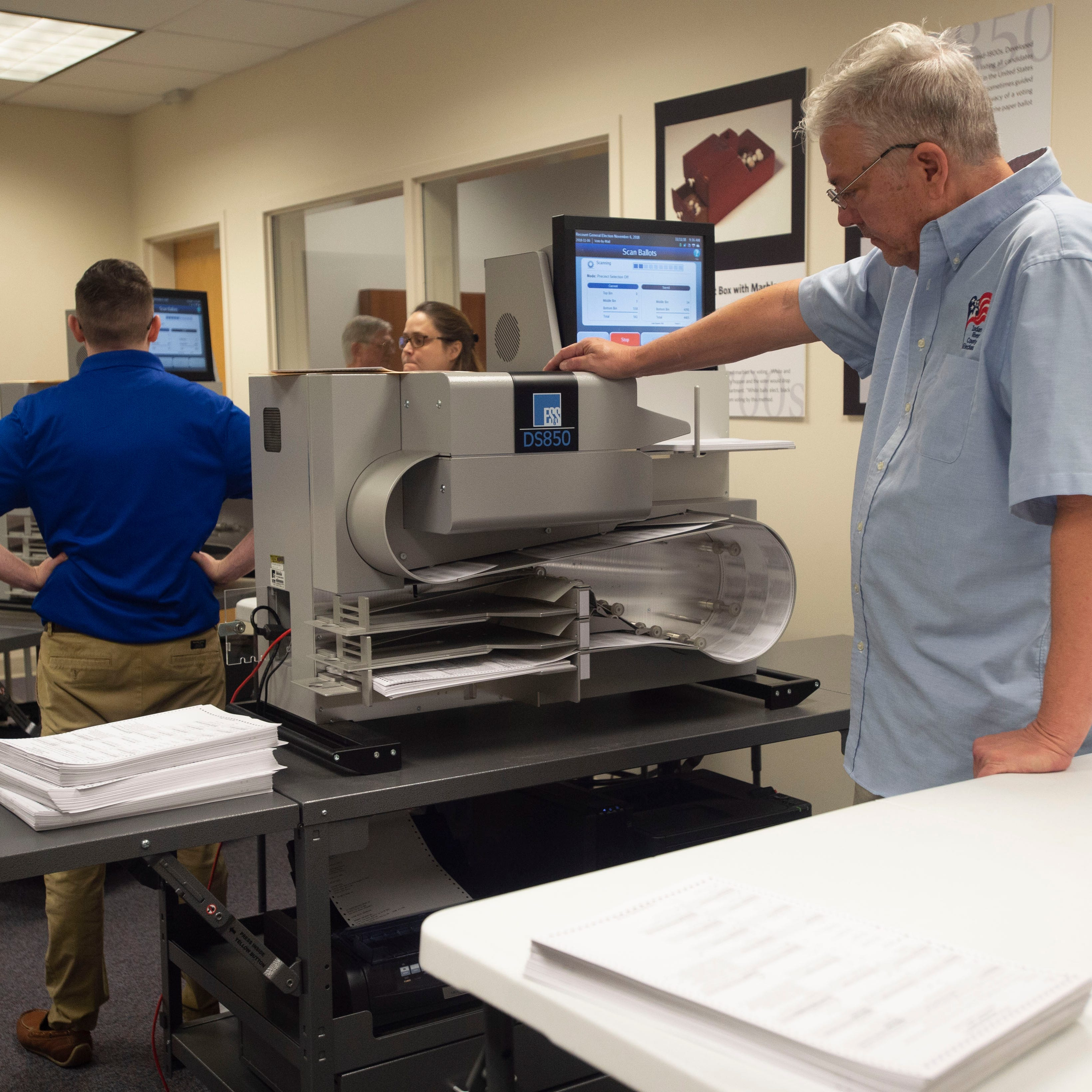 Florida recount updates: System 'working perfectly' in Indian River County recount