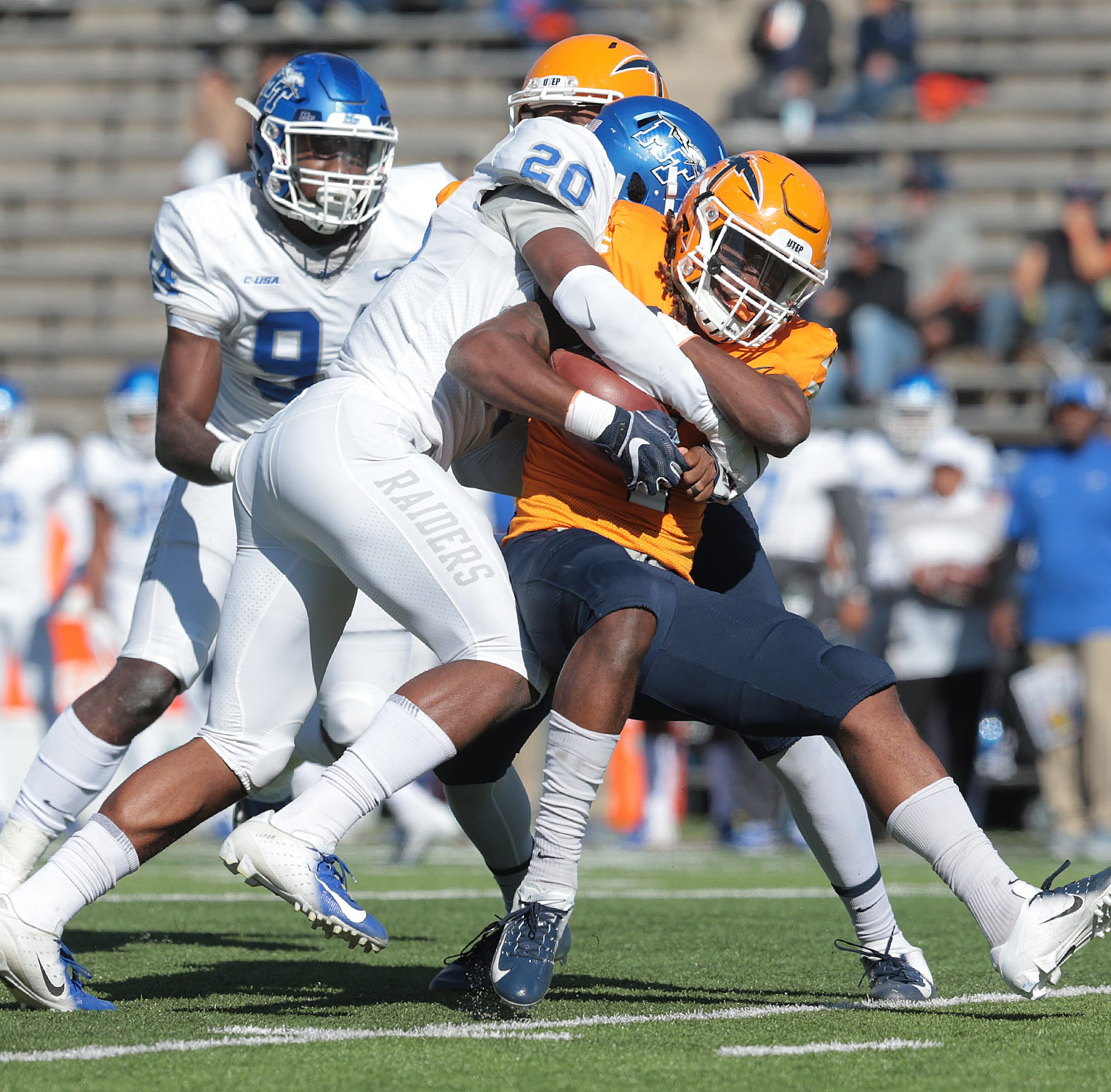 MTSU defense credits playing SEC football teams for C-USA success