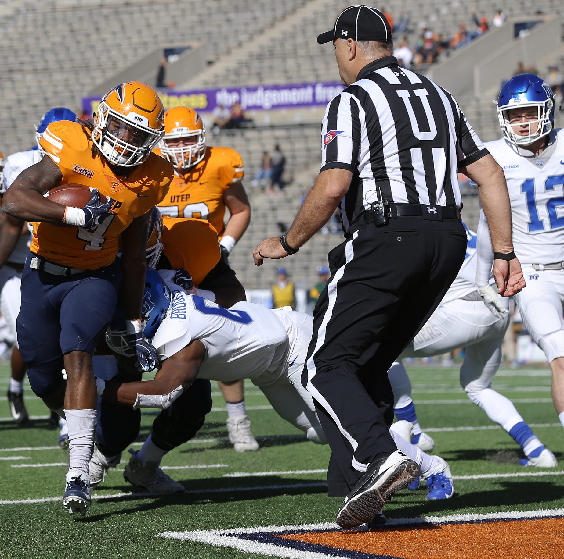 UTEP football plays for pride, but could be spoiler to Southern Miss bowl hopes