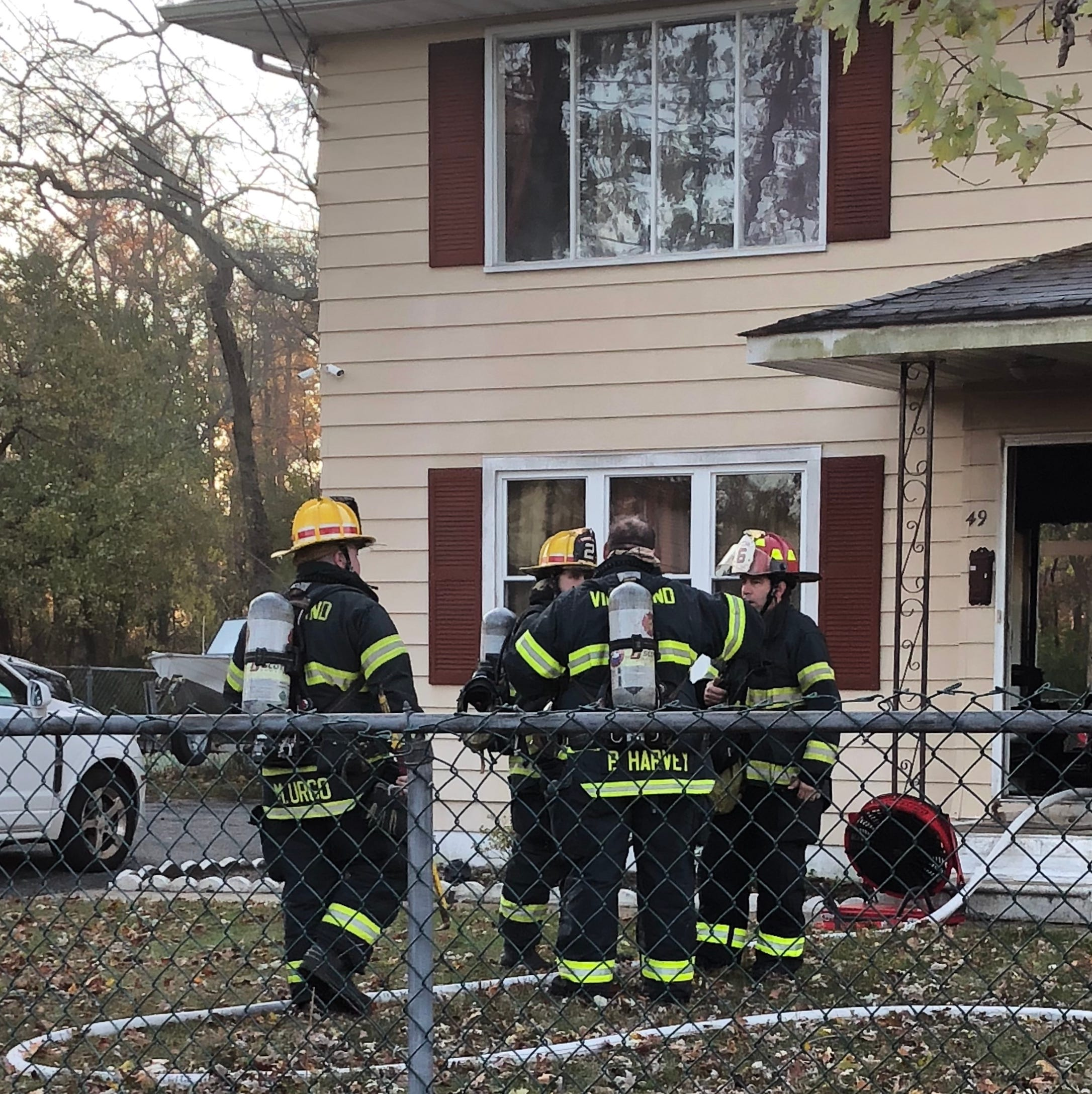 Fire at Vineland duplex displaces four
