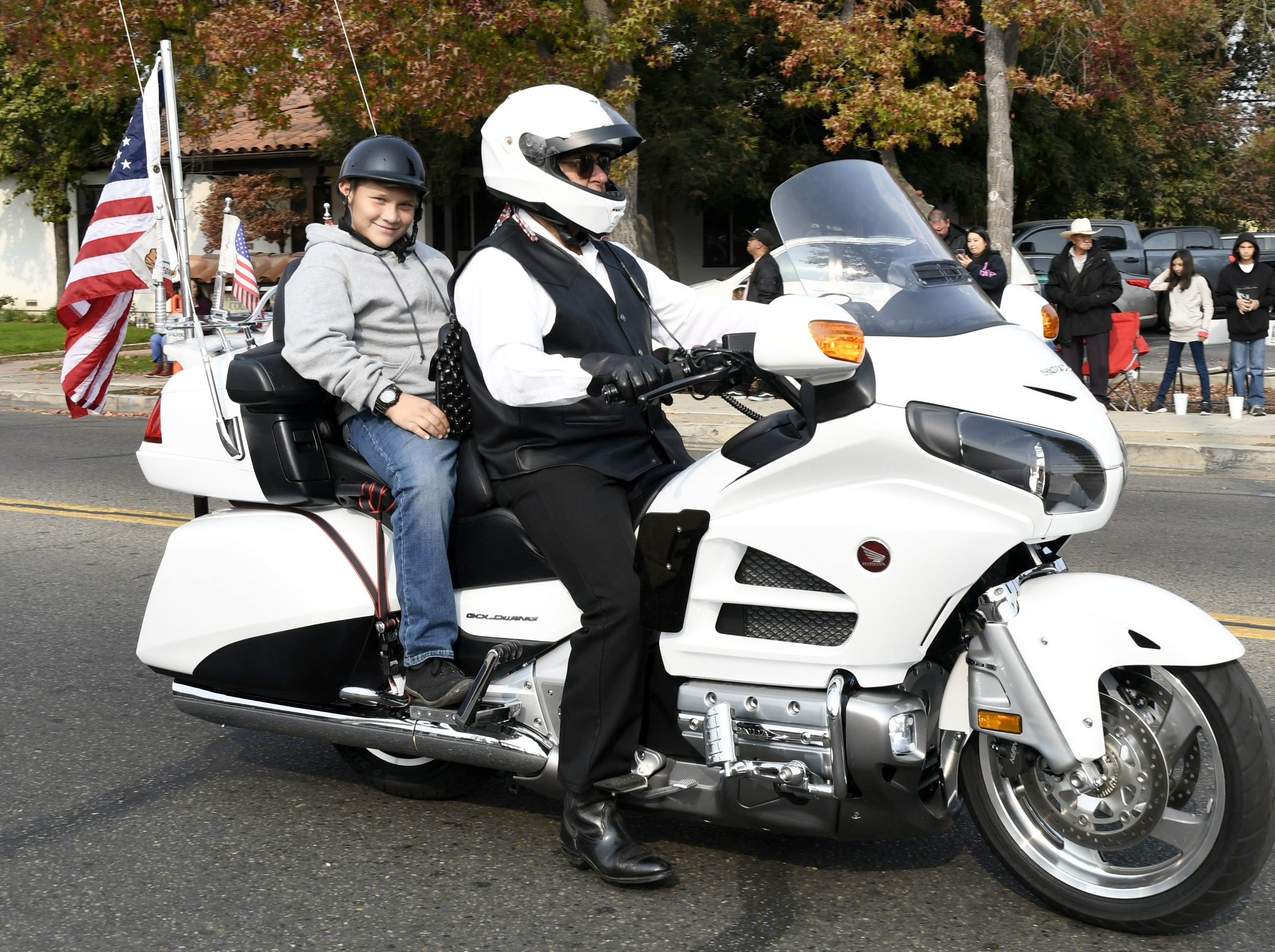 Community members head to downtown Visalia for the annual Veterans Day Parade on Saturday, November 10, 2018.