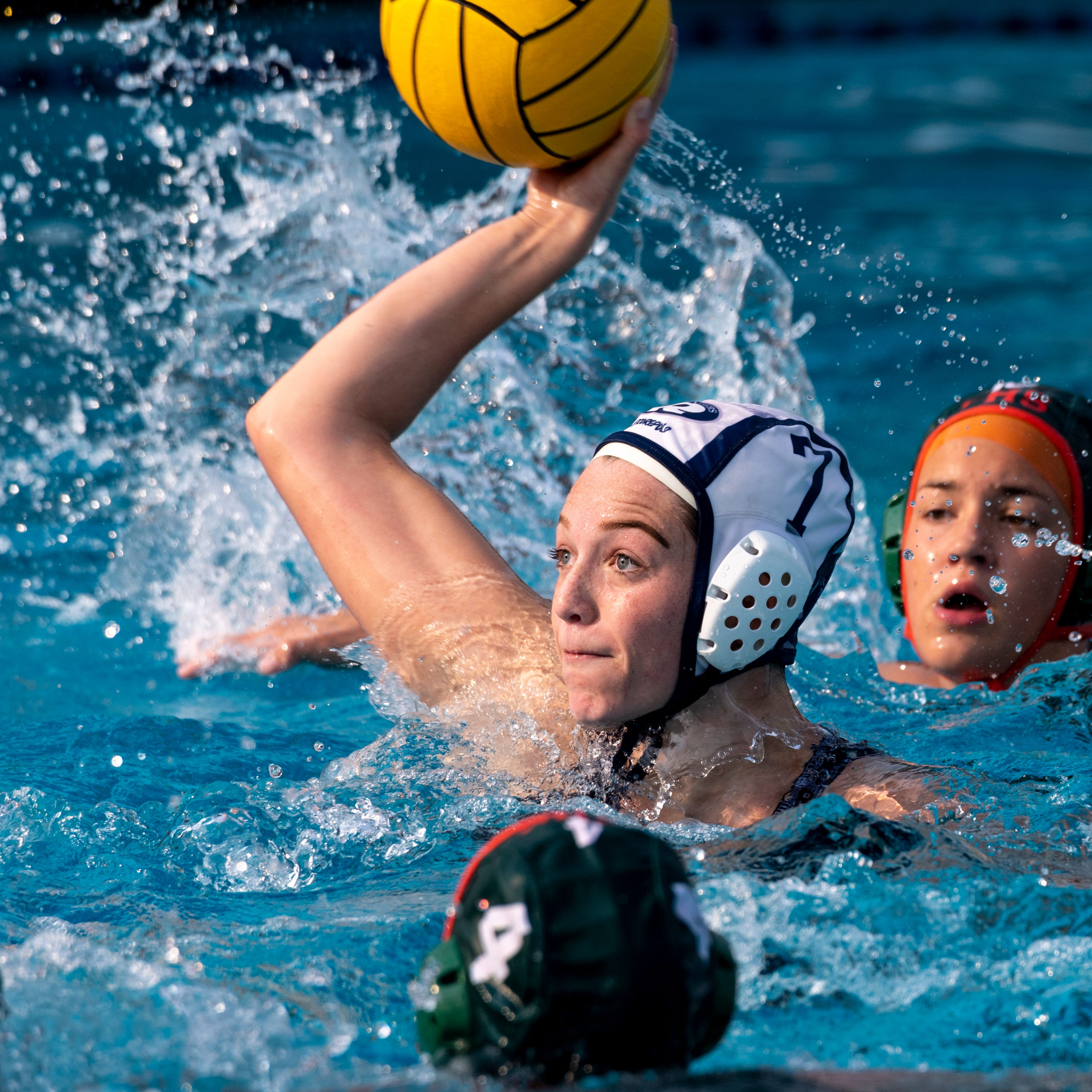 You voted. This Redwood water polo player won.