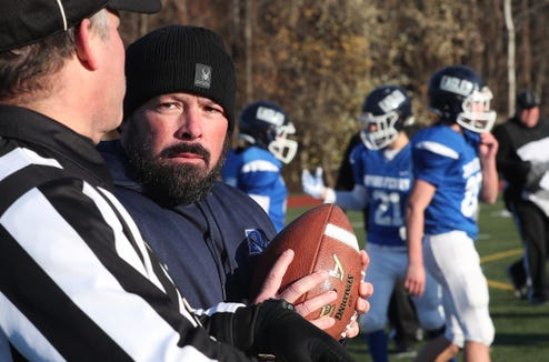 Dobbs Ferry defeated Chester 35-14 to win  the Class C regional championship game at Mahopac High School Nov. 9, 2018.