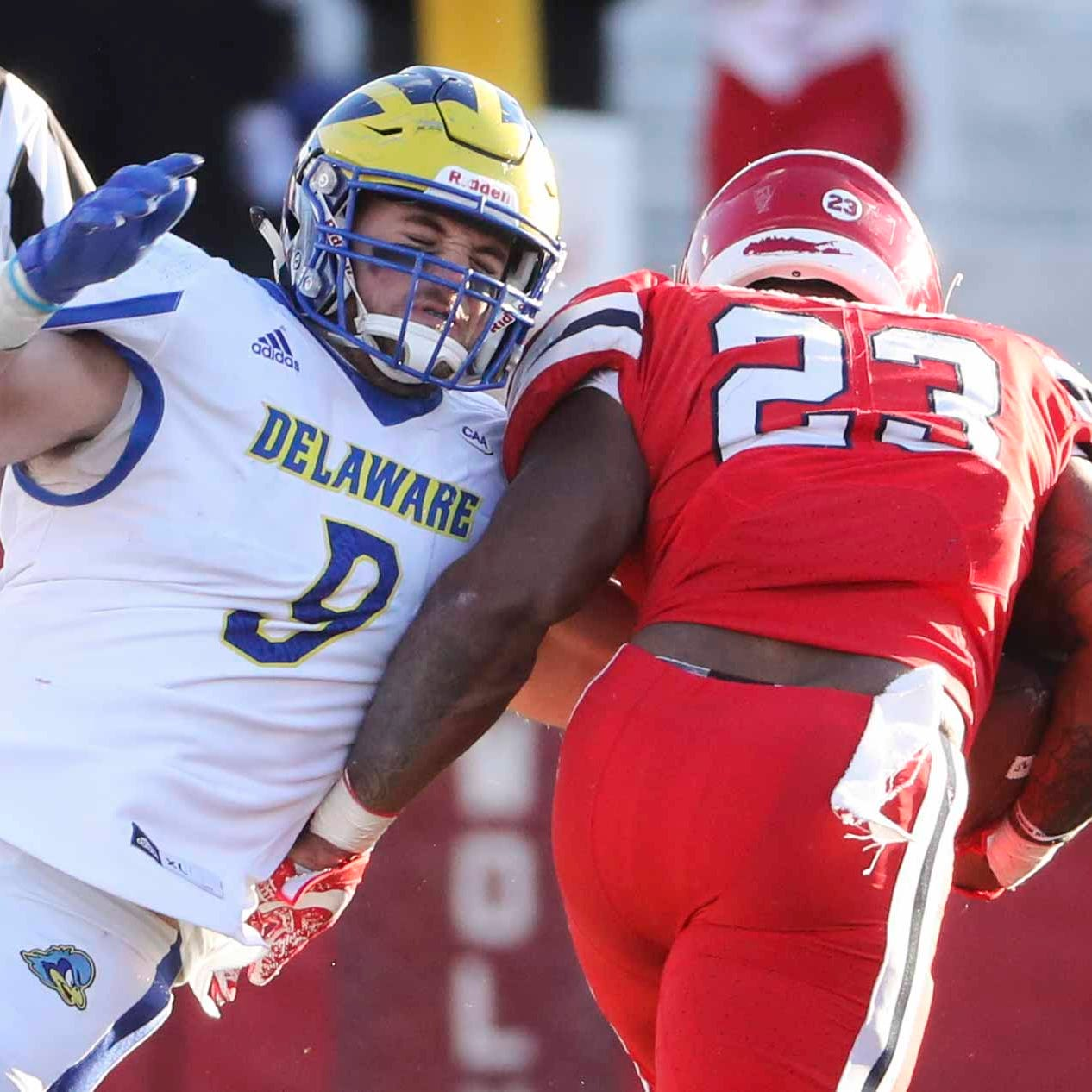 Five University of Delaware players are first-team All-CAA in football