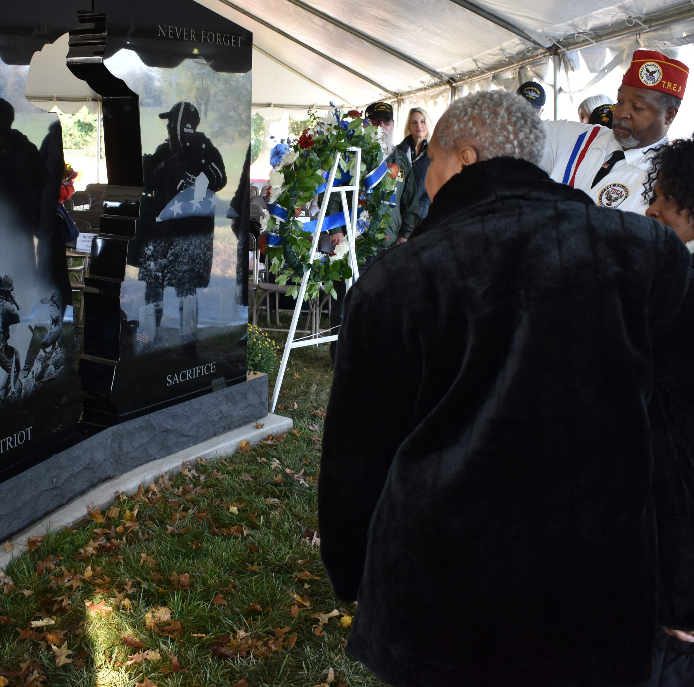 New monument honors Delaware's Gold Star families, whose loved ones died serving the U.S.