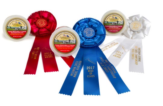 Crave Brothers Farmstead's fresh mozzarella  has garnered many awards in state and national competition.