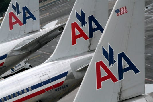 Ap American Airlines Flight Attendants F File Usa New