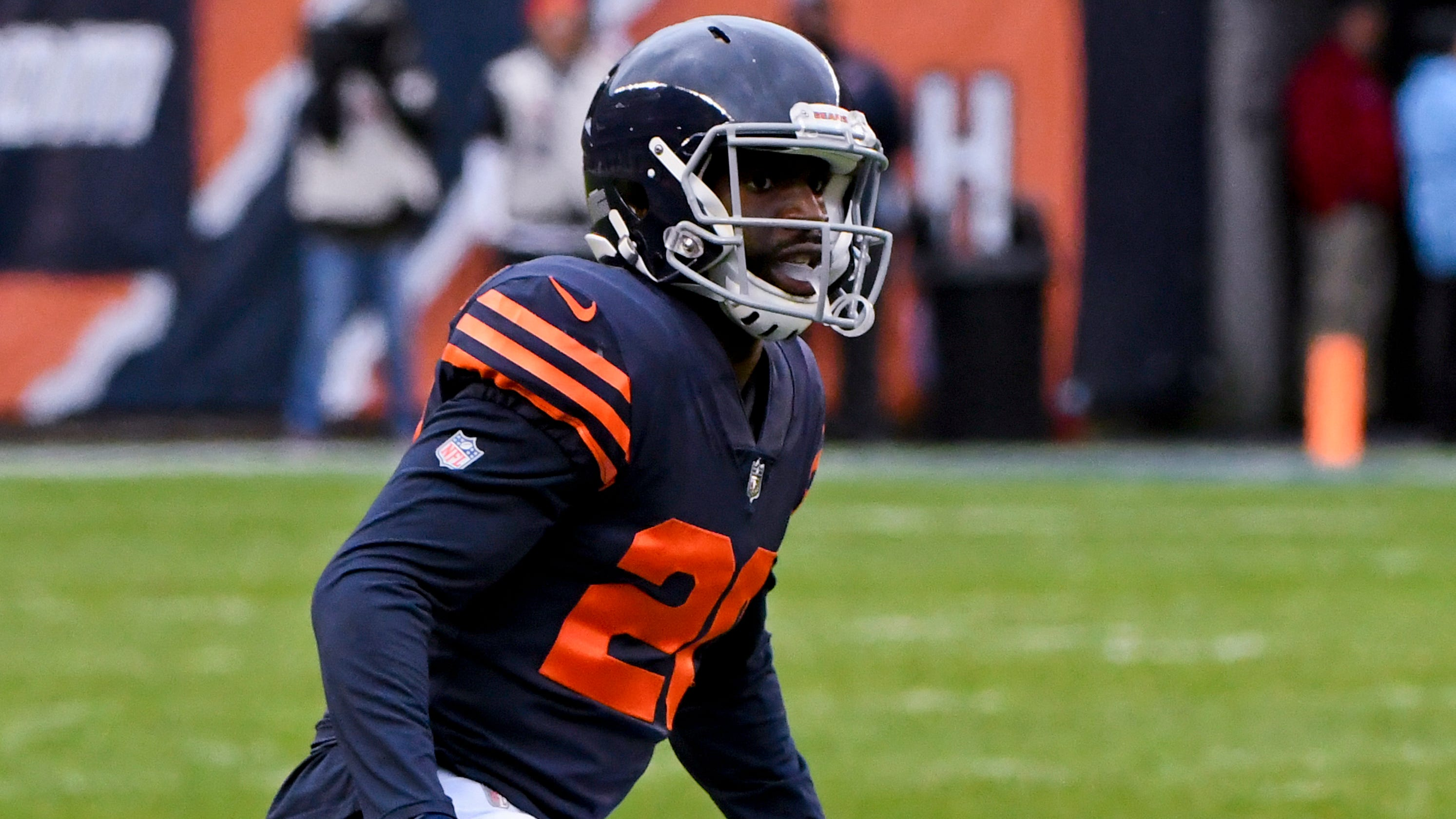 Chicago Bears  Prince Amukamara plays with name misspelled on jersey 2febc284a