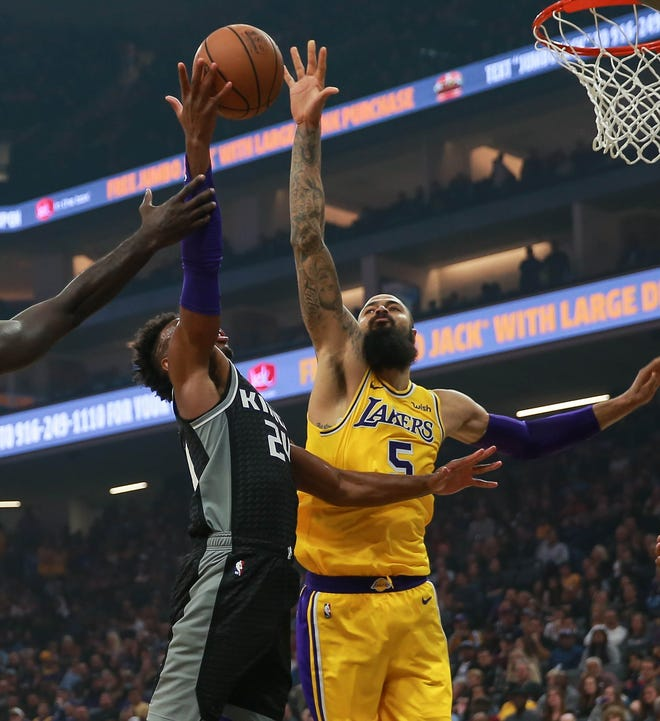 Tyson Chandler has helped transform the Lakers defense in just two games.