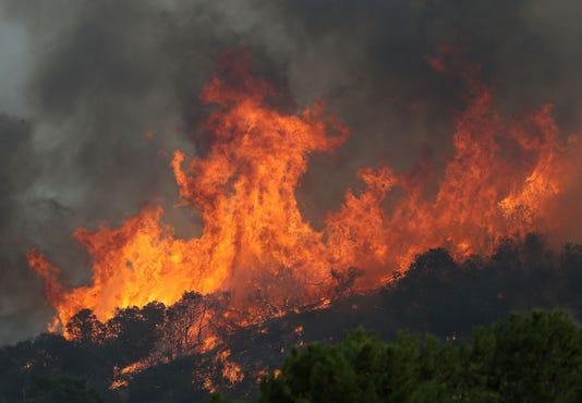 Usp News California Wildfire A Usa Ca