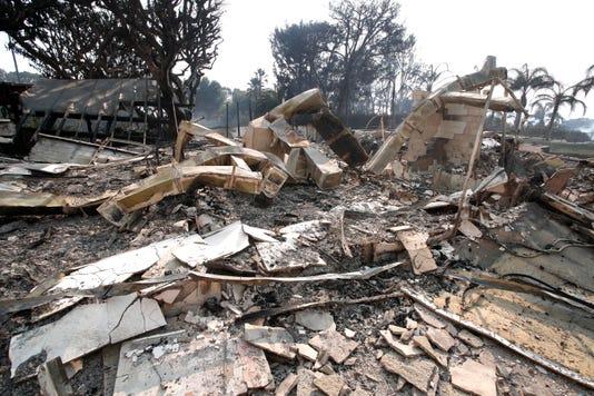 Epa Usa California Wildfire Dis Fire Usa Ca