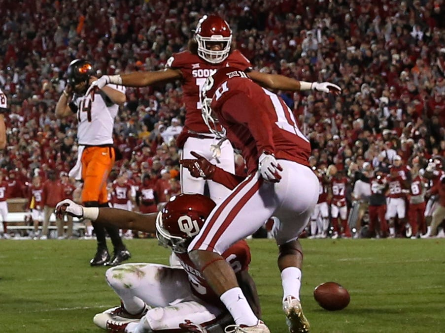 Even as Oklahoma escapes Bedlam shootout, questions about its defense are amplified