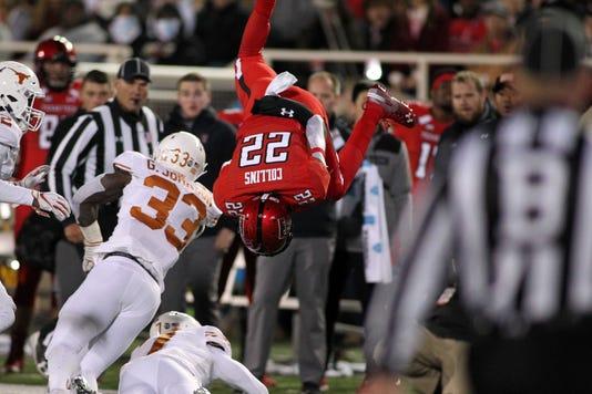 Ncaa Football Texas At Texas Tech