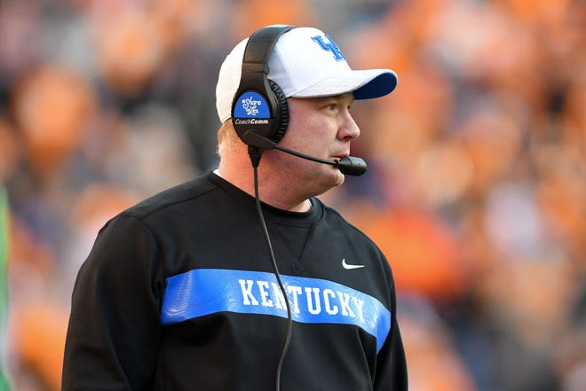 Mark Stoops's Kentucky Wildcats missed their chance for a 10th win on the season when they lost 24-7 to Tennessee last Saturday for the 17th consecutive time in Tennessee's Neyland Stadium. The loss ran UK's November record for the last five seasons to 4-14.