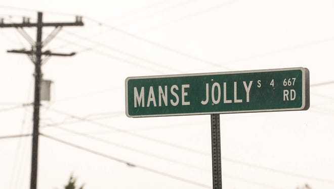 Manse Jolly Road, named after a confederate soldier Manse Jolly.