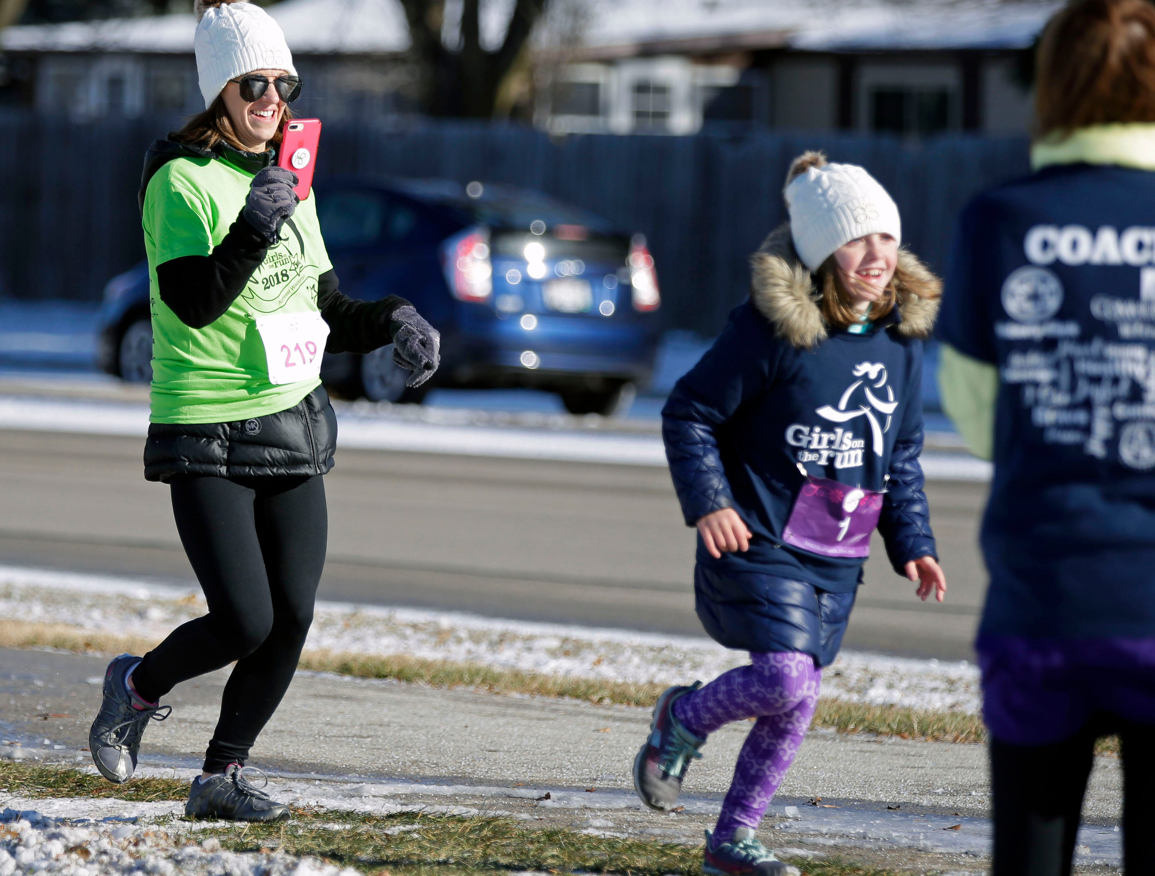 The Girls on the Run Celebration 5K takes place Saturday, November 10, 2018, at FVTC in Appleton, Wis. The event completes a 10-week program teaching life skills to inspire and empower girls.