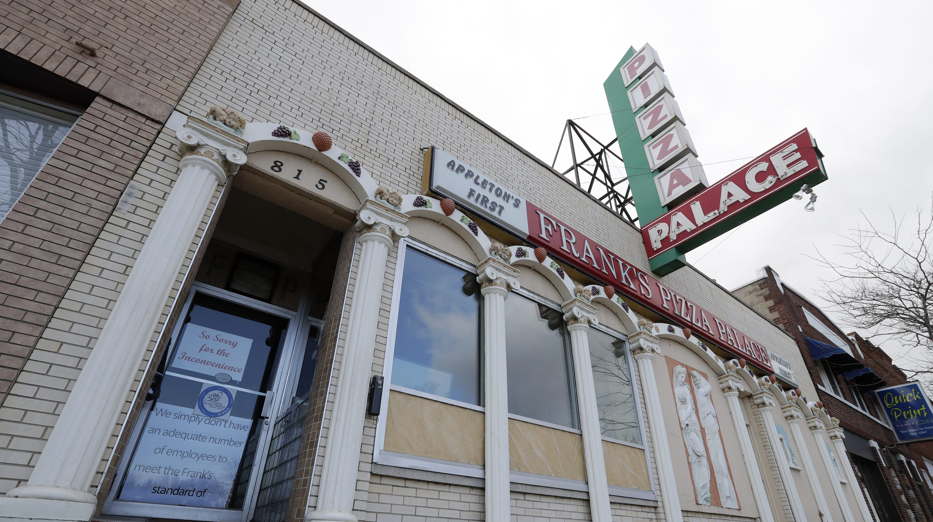 The Buzz: Frank's Pizza Palace closure rattles customers