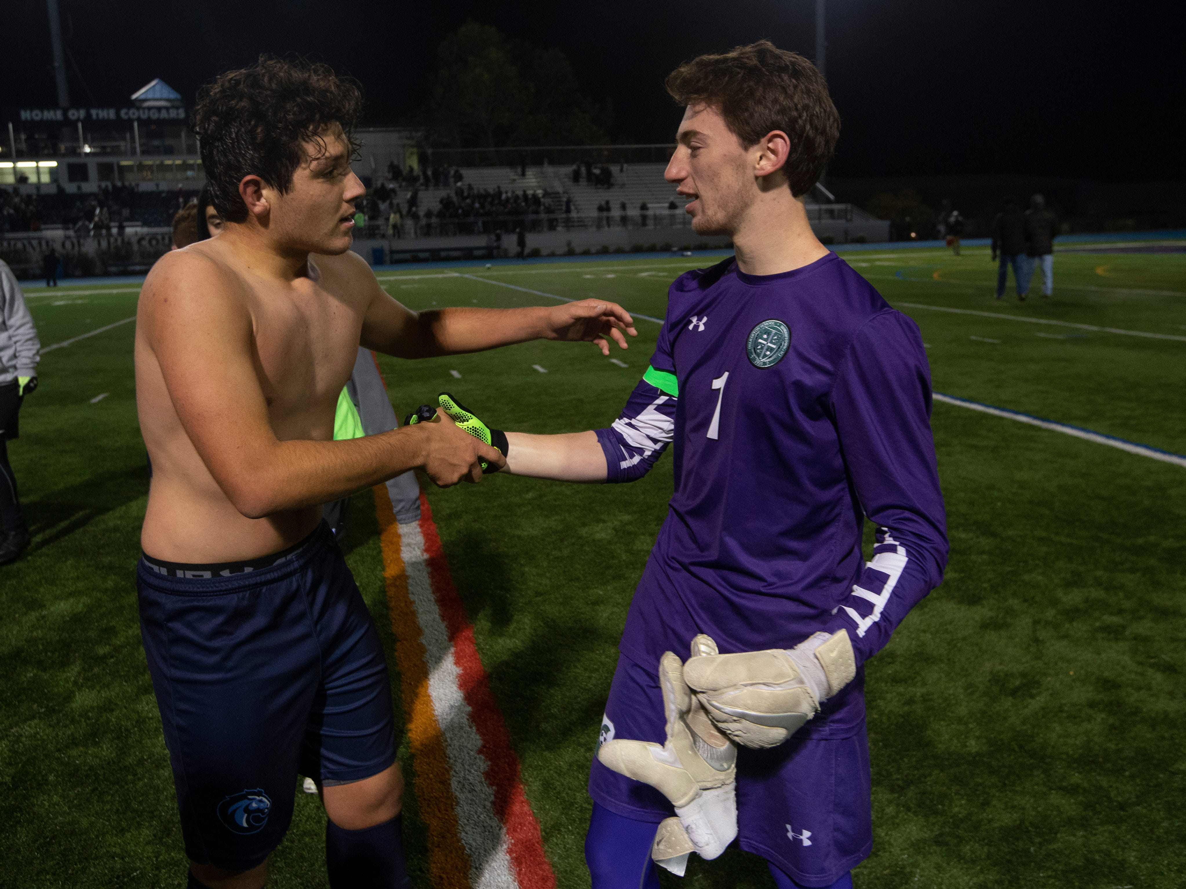 Delbarton soccer falls in NJSIAA final