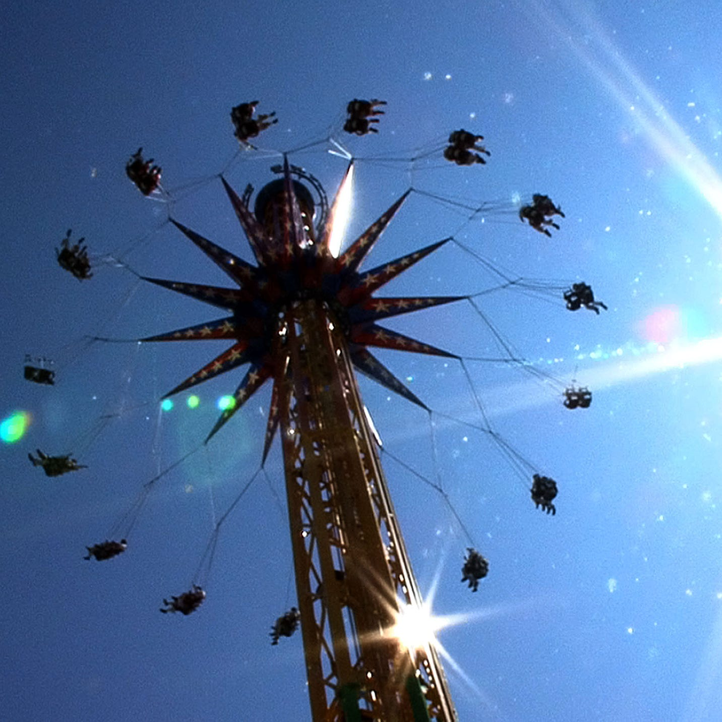 The SkyScreamer ride, pictured in 2012 at Six Flags Great Adventure in Jackson.